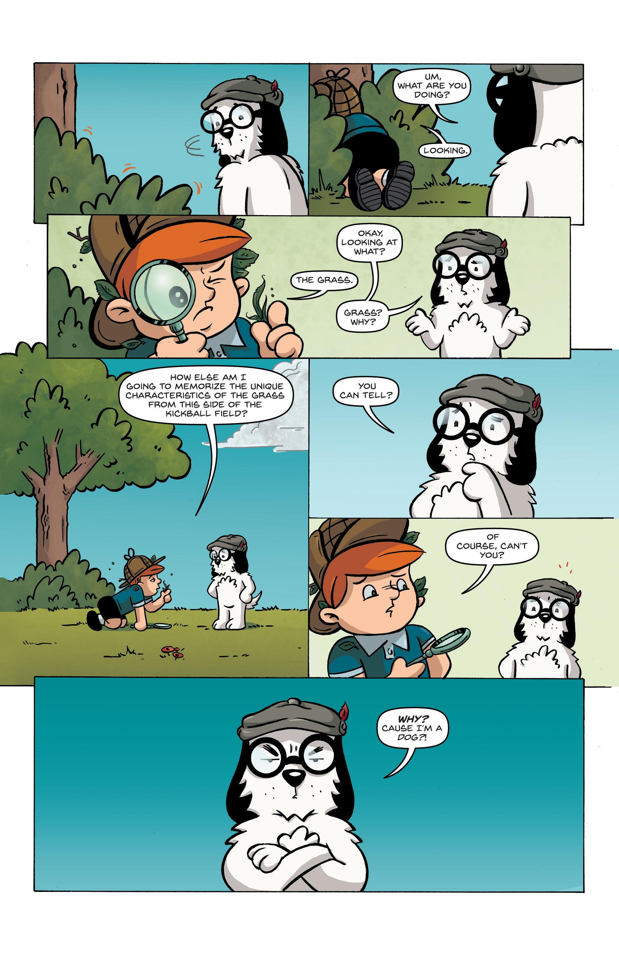 Read online Kid Sherlock comic -  Issue #1 - 10