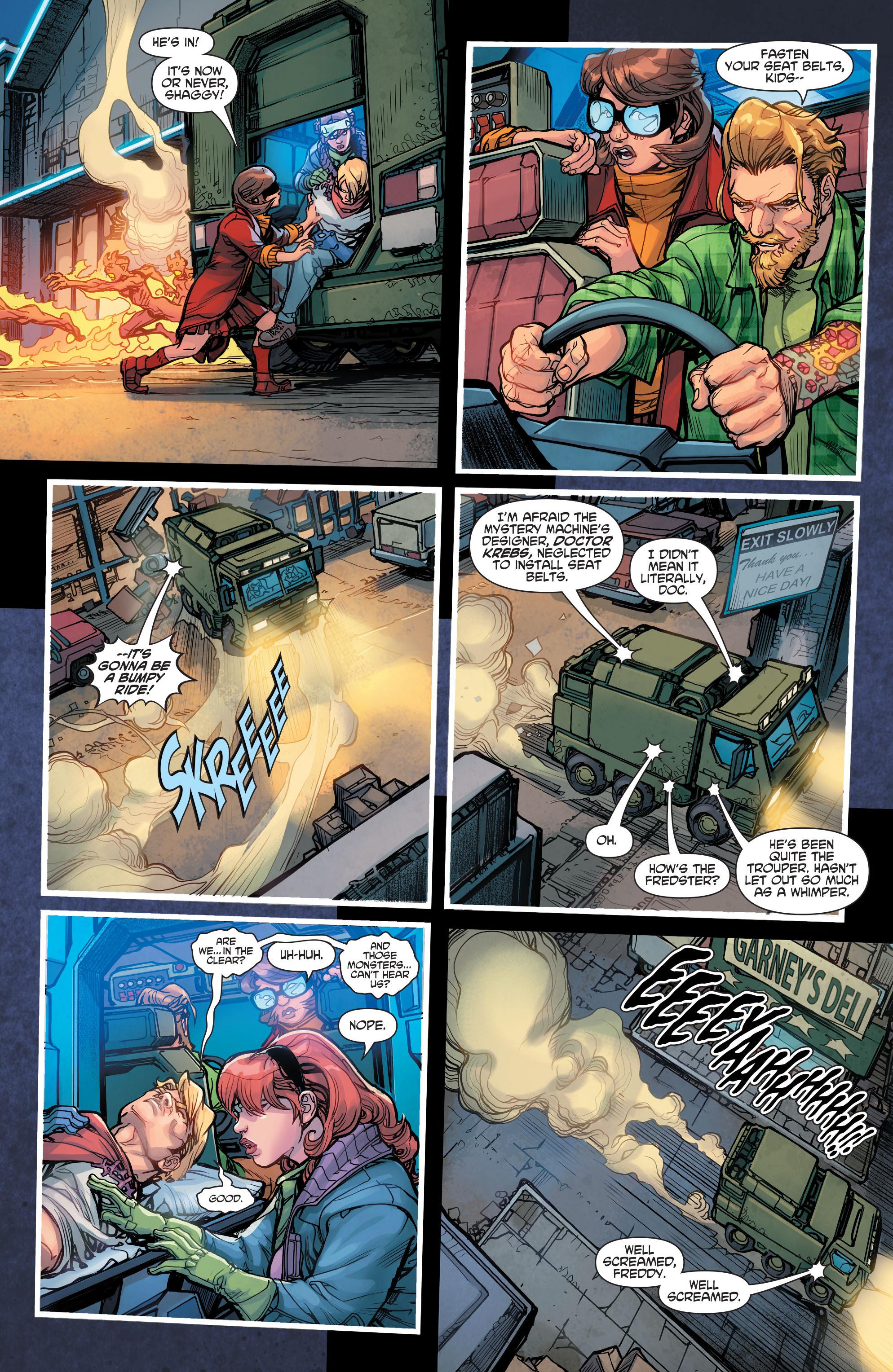 Read online Scooby Apocalypse comic -  Issue #7 - 22