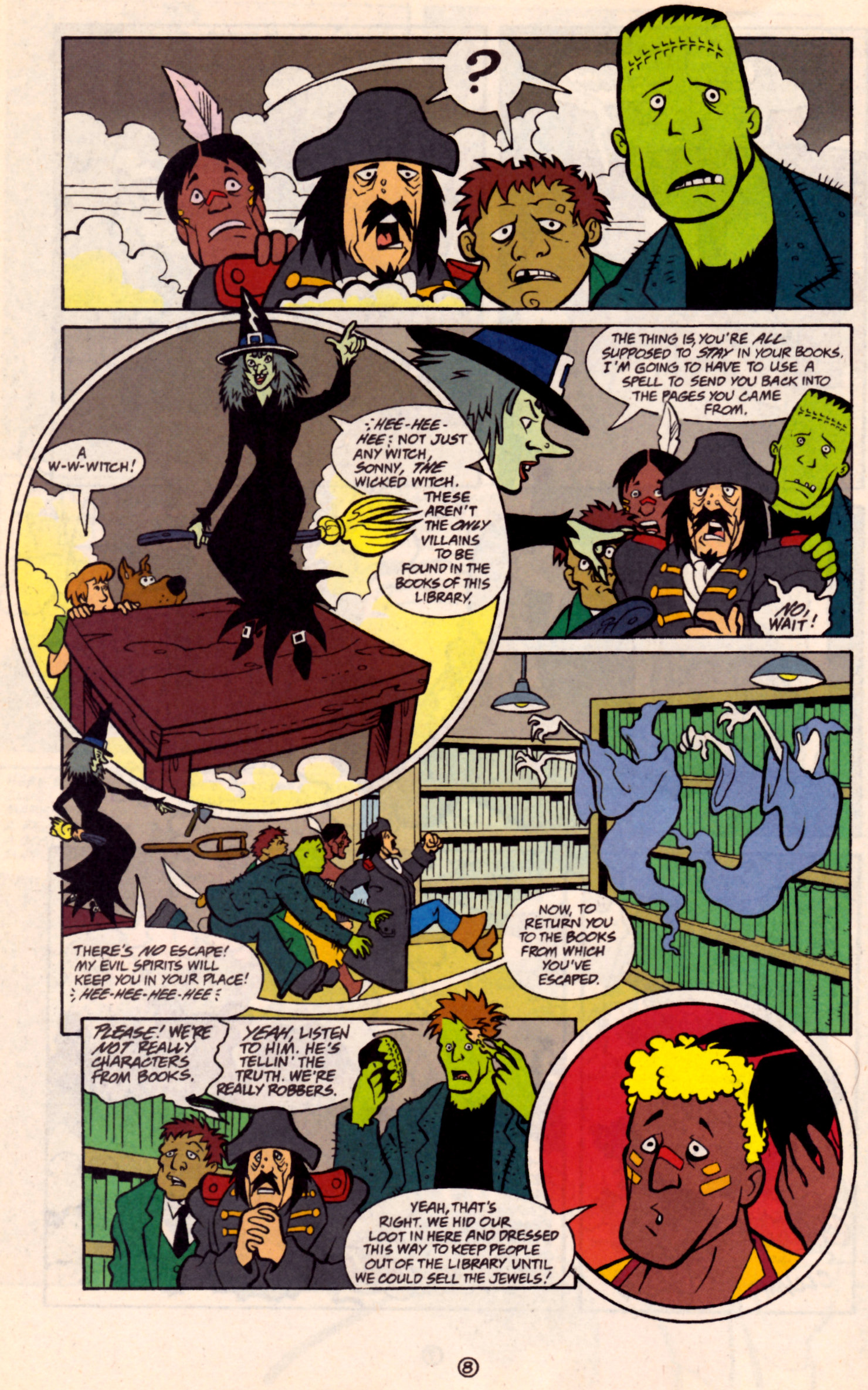 Read online Scooby-Doo (1997) comic -  Issue #32 - 21