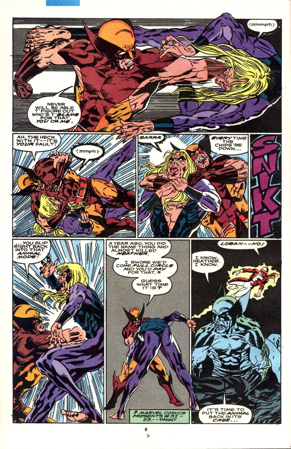 Read online Alpha Flight (1983) comic -  Issue #90 - 5