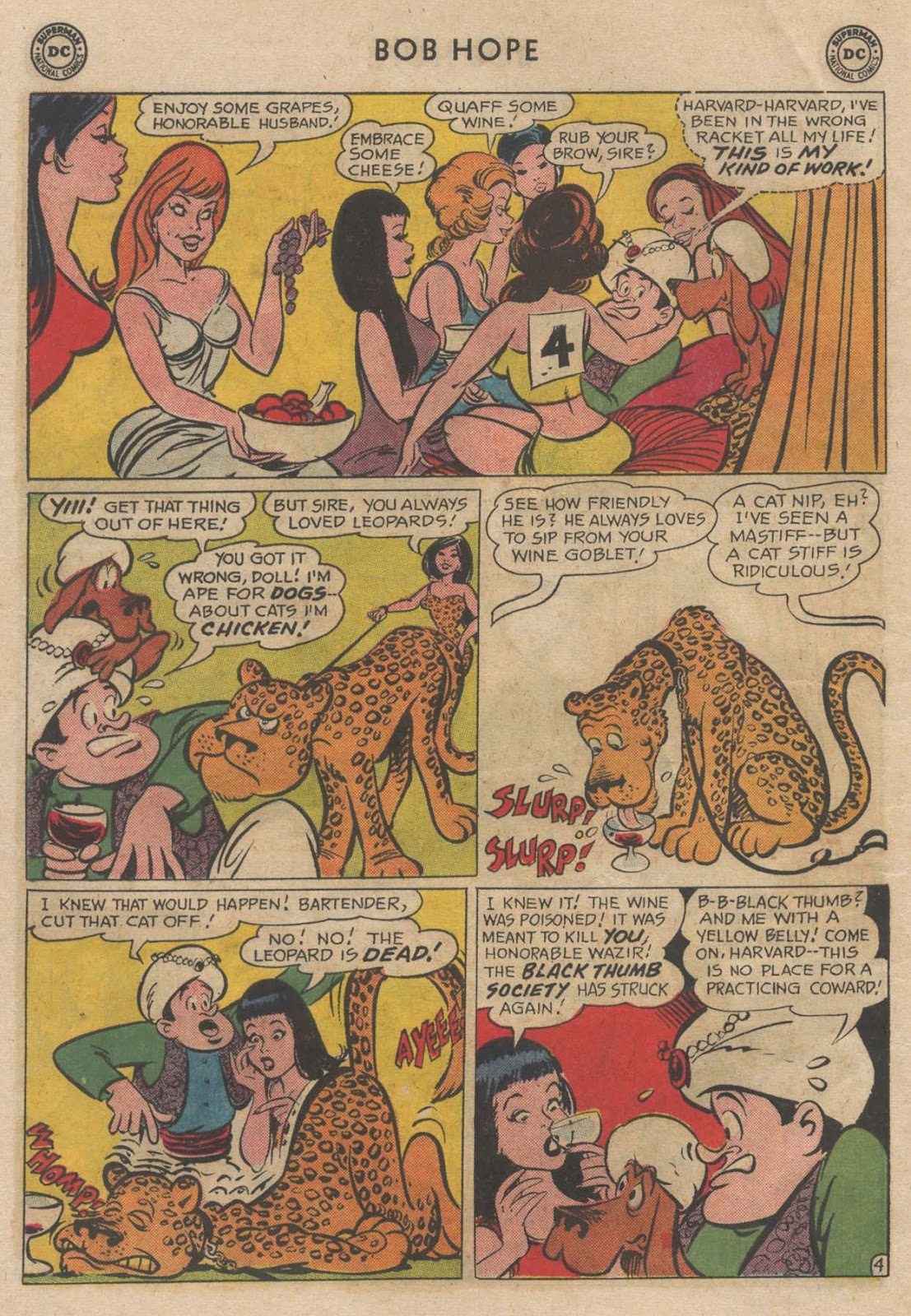 The Adventures of Bob Hope issue 90 - Page 6