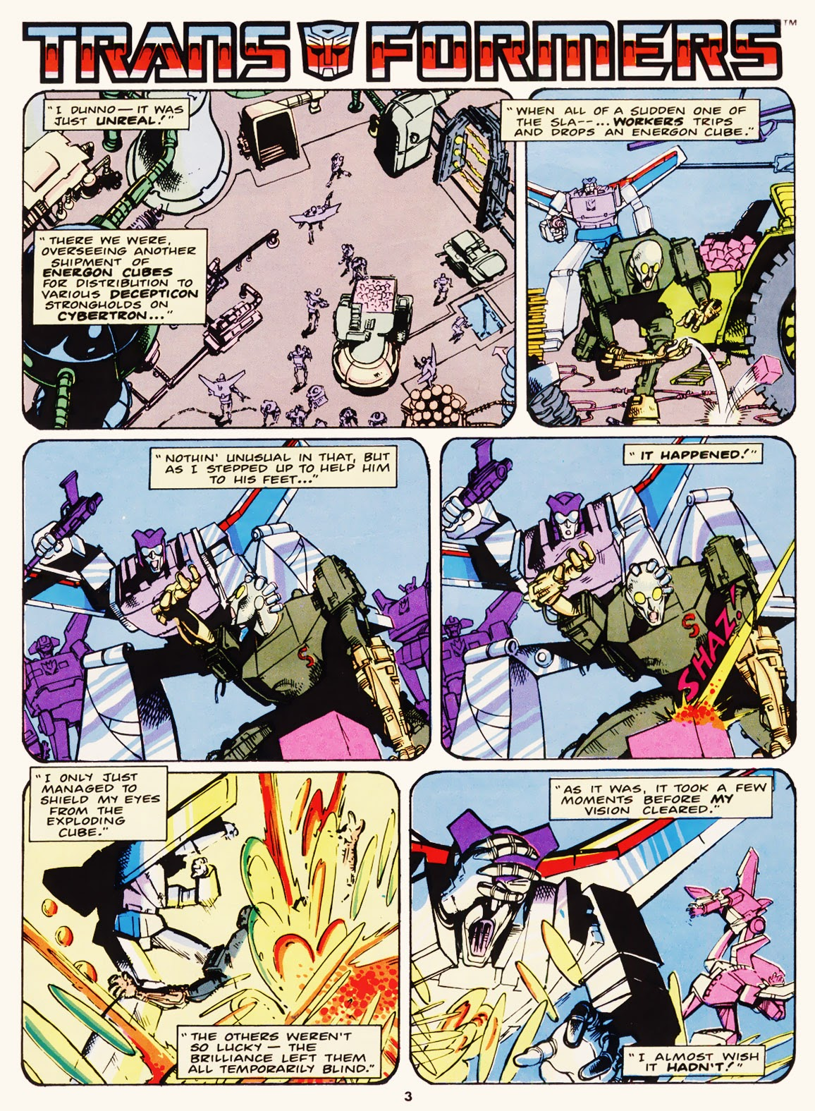 The Transformers (UK) 229 Page 1