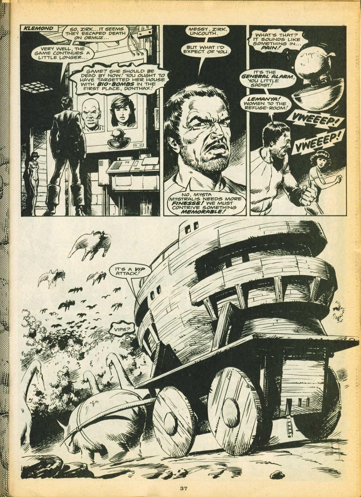 Warrior Issue #5 #6 - English 36
