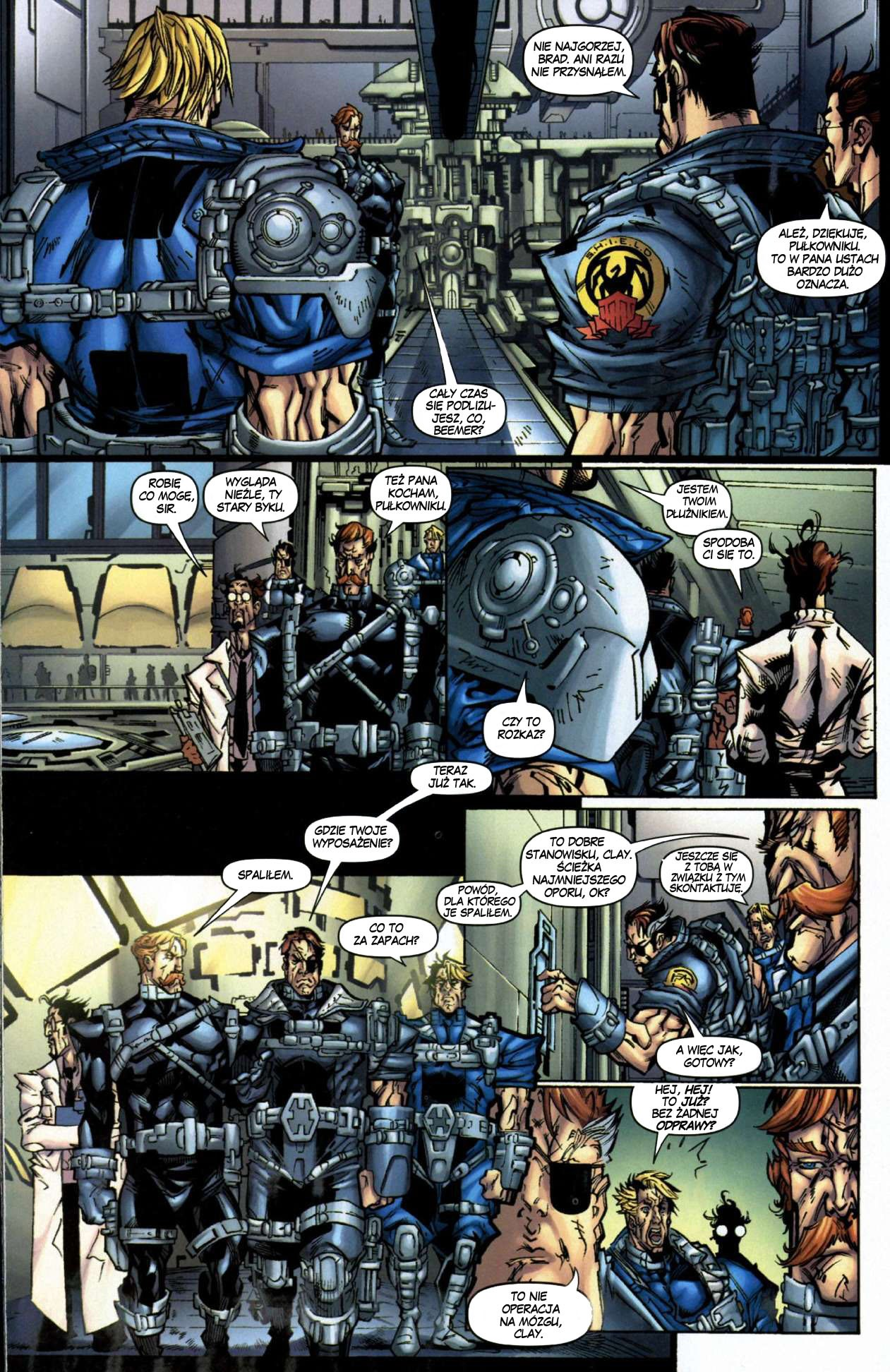 Read online Nick Fury's Howling Commandos comic -  Issue #1 - 18