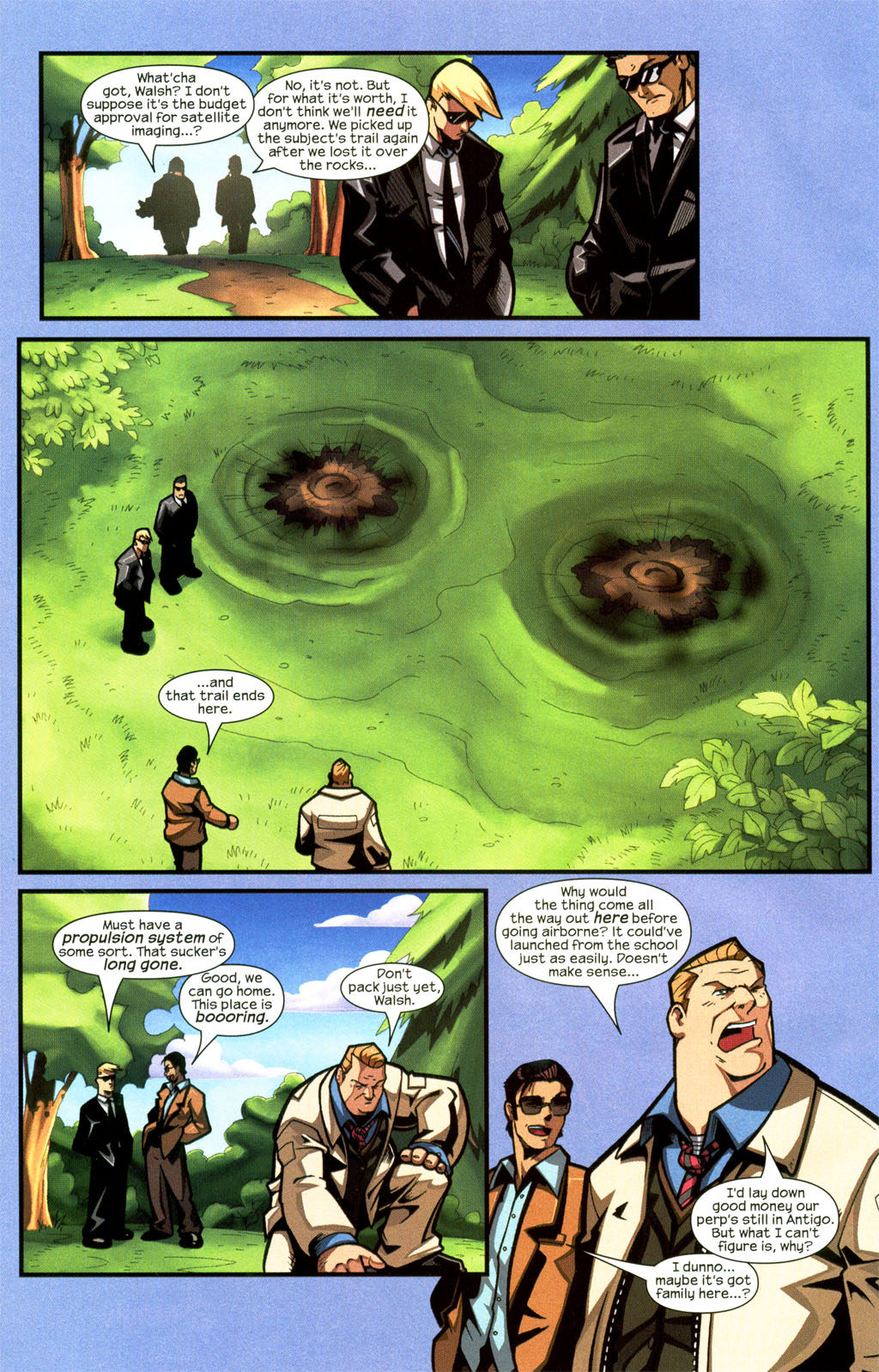 Read online Sentinel comic -  Issue #7 - 11
