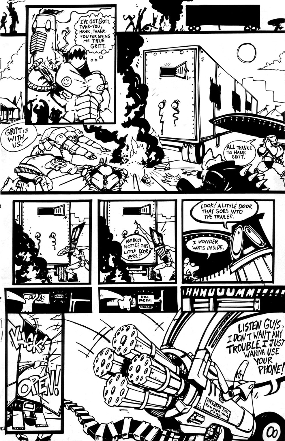 Read online Scud: The Disposable Assassin (1994) comic -  Issue #3 - 19