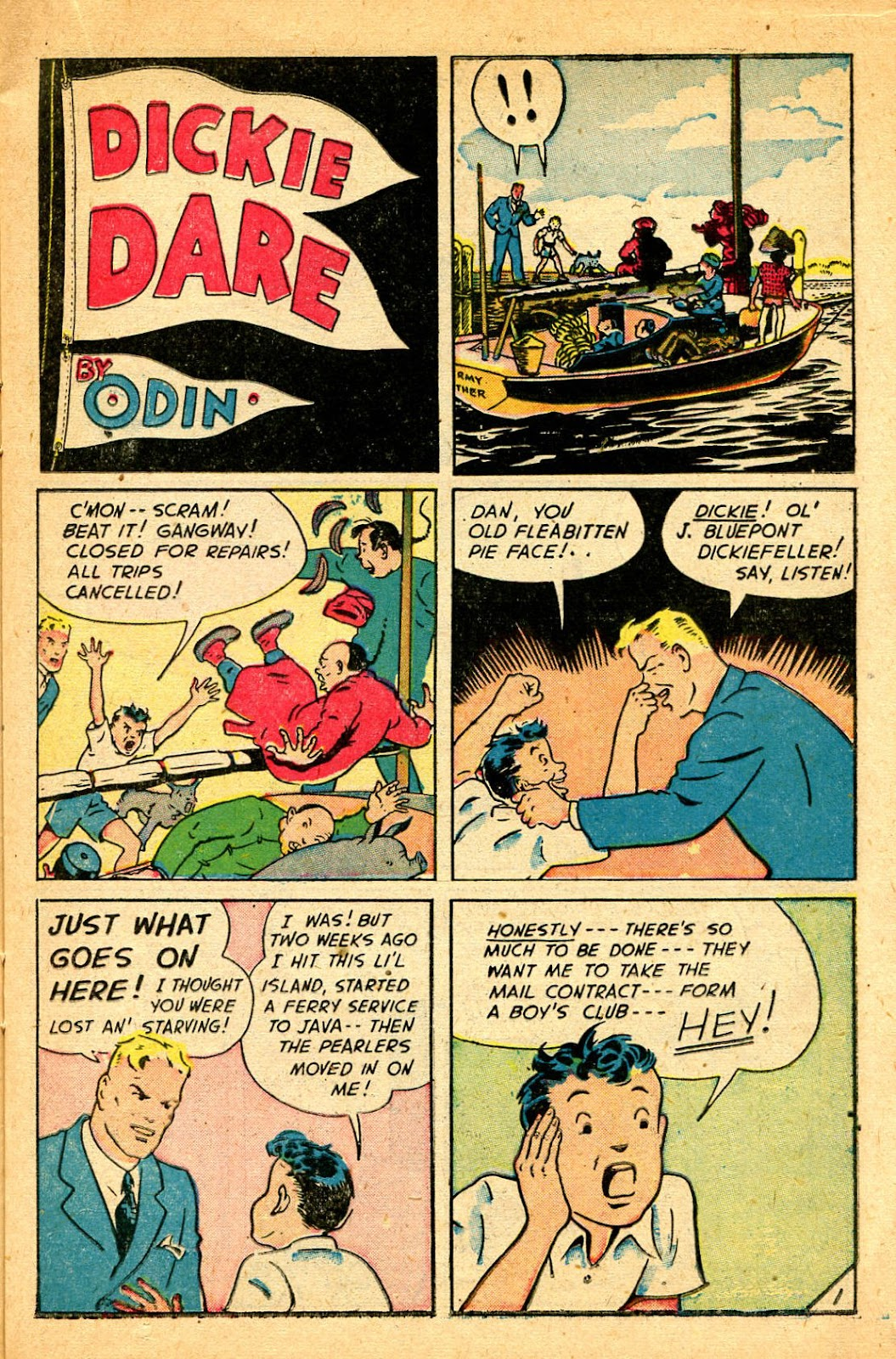 Read online Famous Funnies comic -  Issue #178 - 19