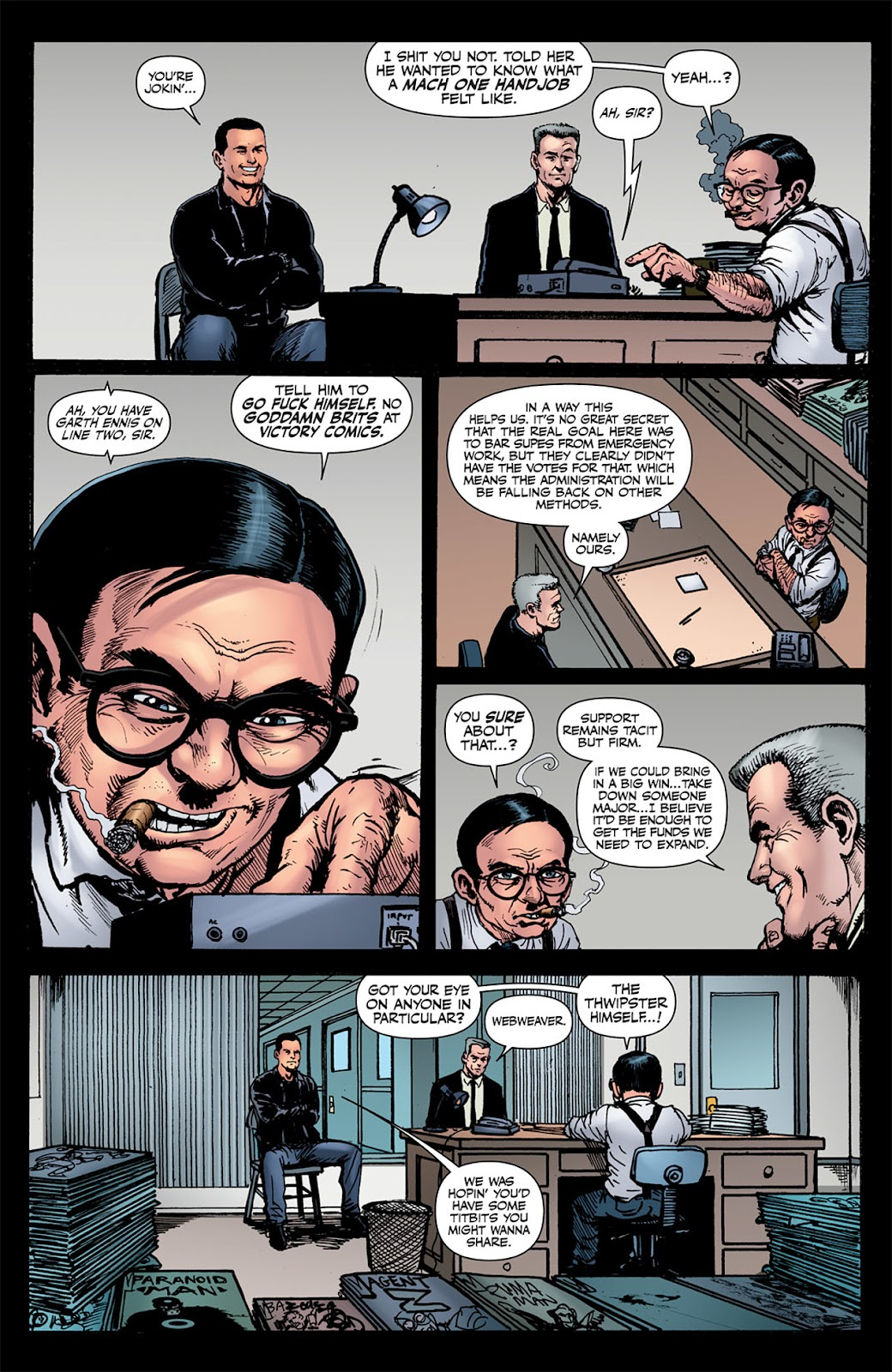 Read online The Boys: Butcher, Baker, Candlestickmaker comic -  Issue #6 - 10