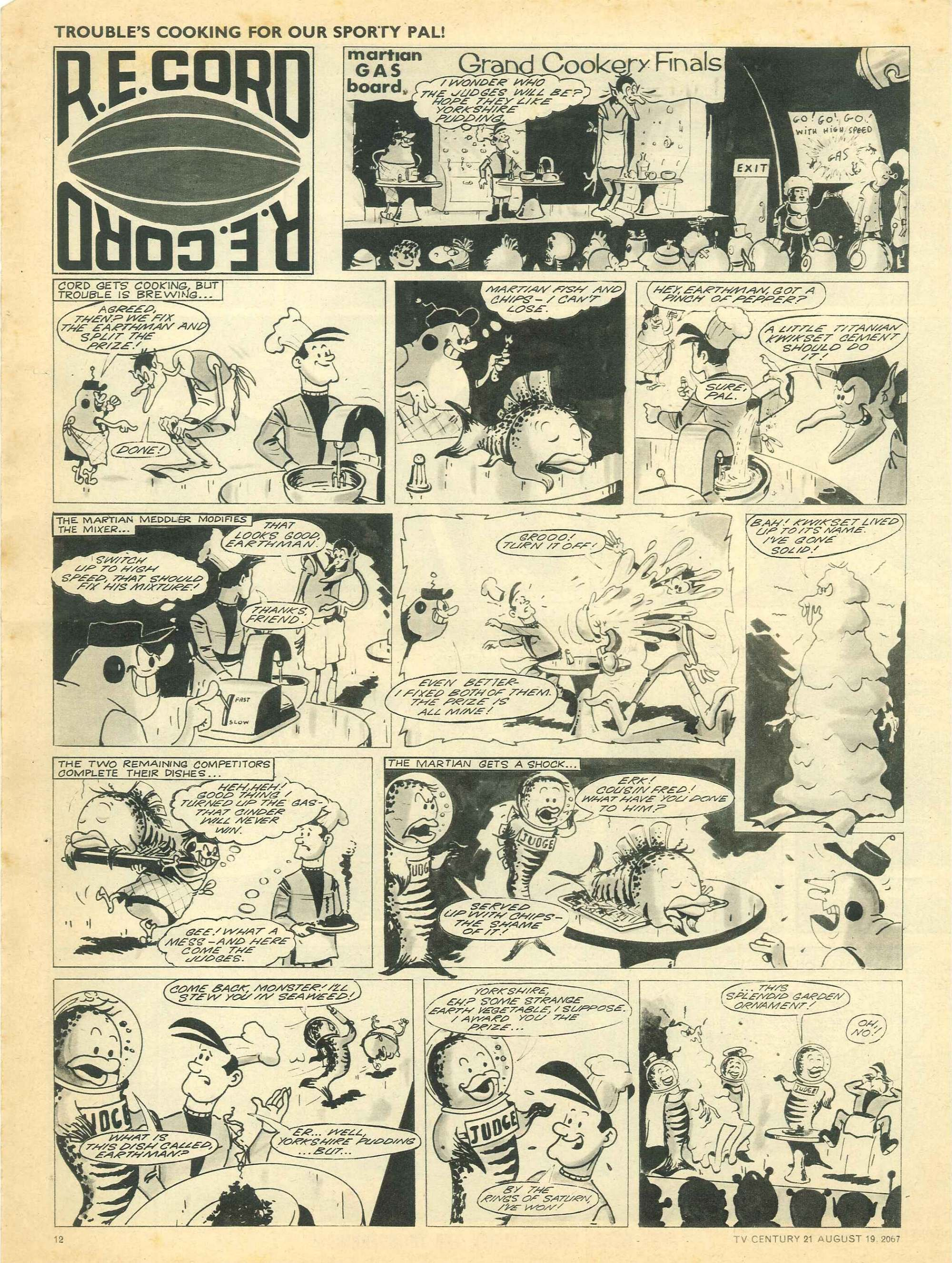 Read online TV Century 21 (TV 21) comic -  Issue #135 - 11