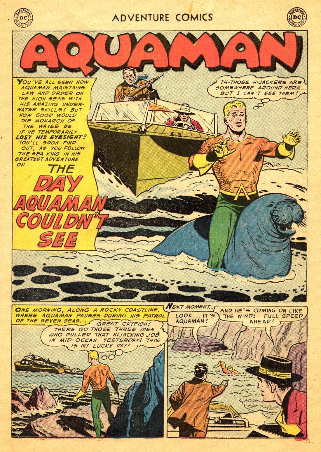 Read online Adventure Comics (1938) comic -  Issue #217 - 17