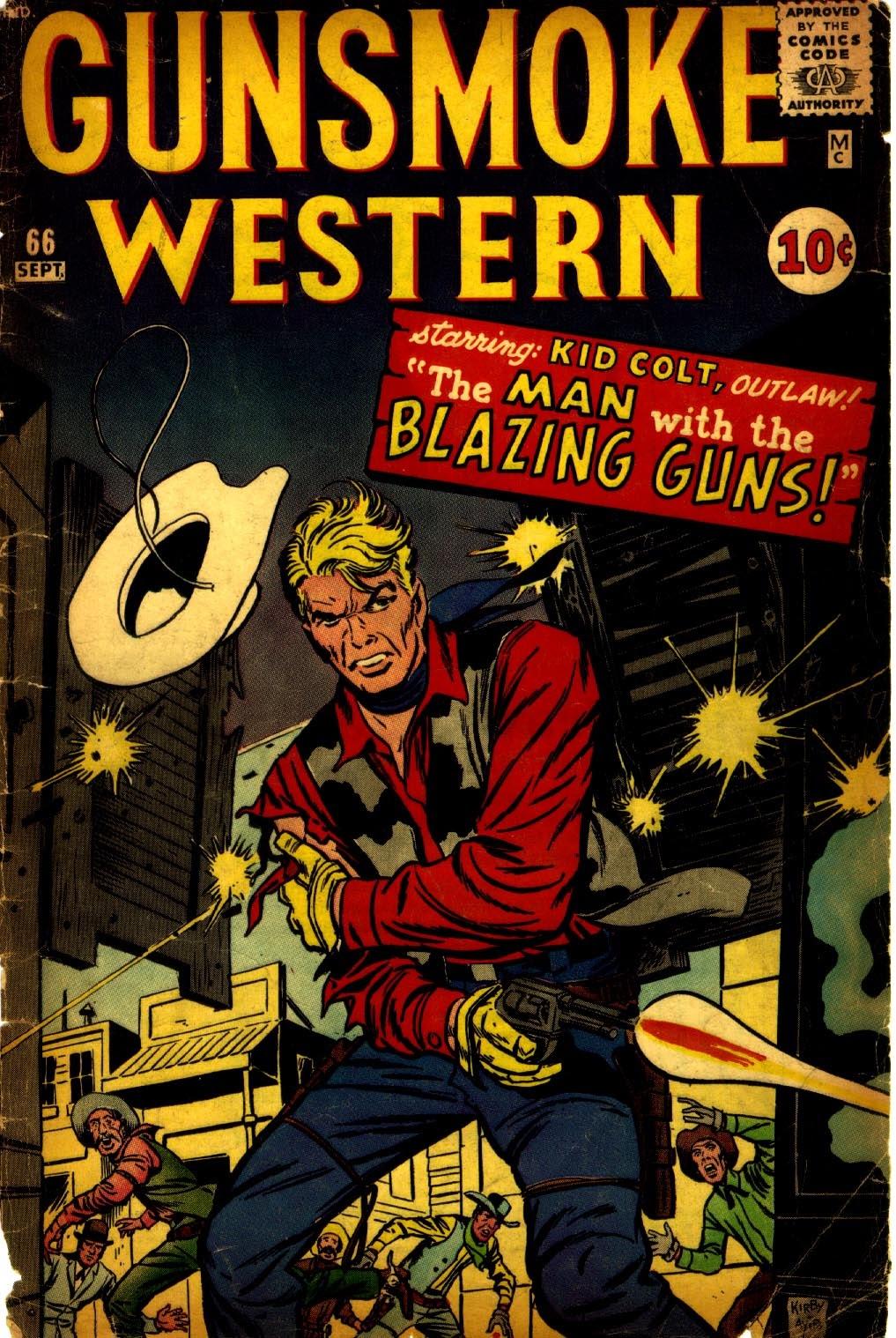 Gunsmoke Western issue 66 - Page 1