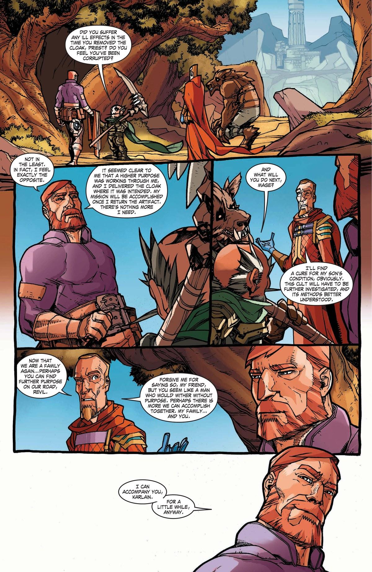 Read online World of Warcraft: Dark Riders comic -  Issue # Full - 136