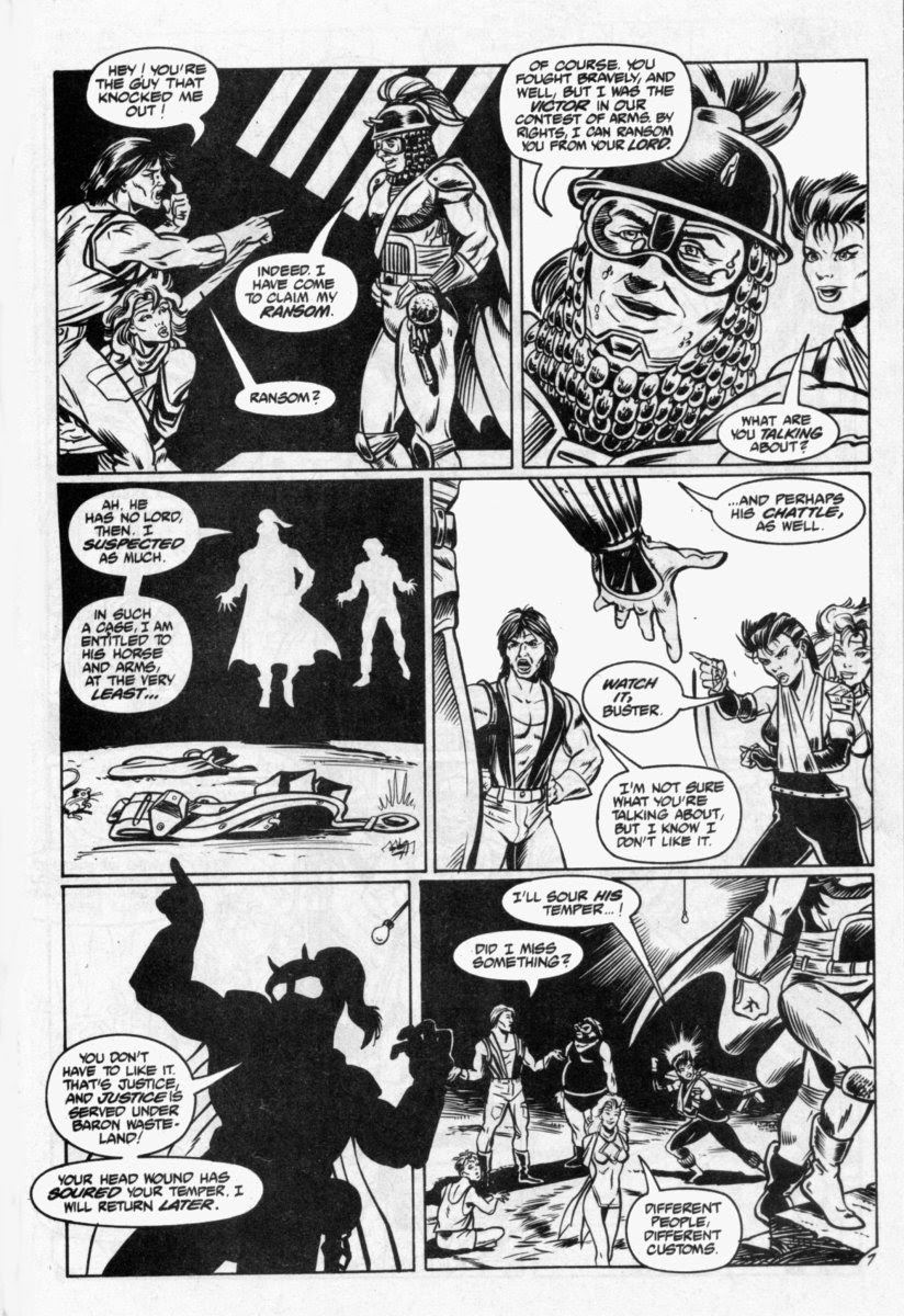 Ex-Mutants: The Shattered Earth Chronicles issue 7 - Page 8