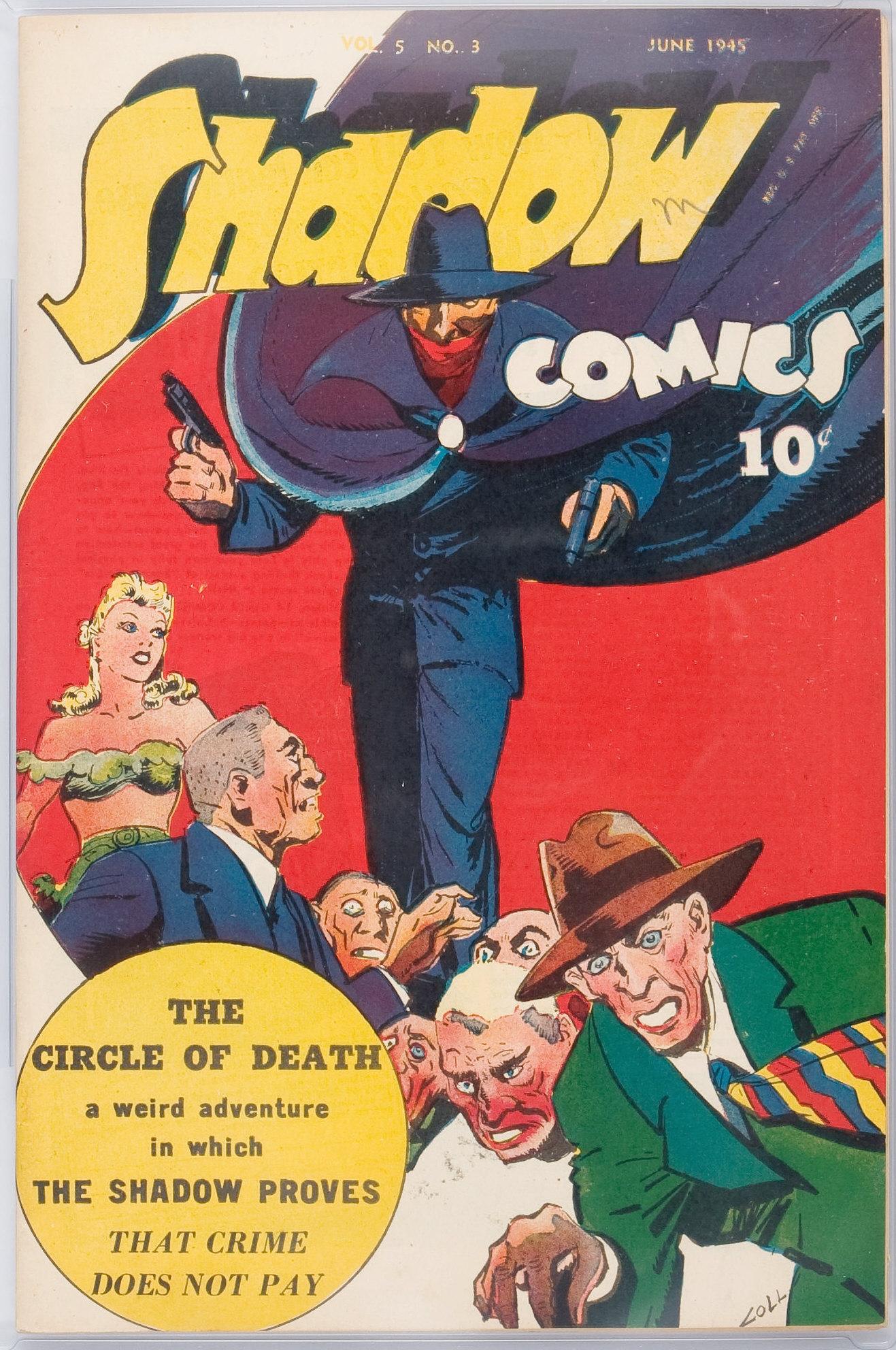 Read online Shadow Comics comic -  Issue #51 - 2