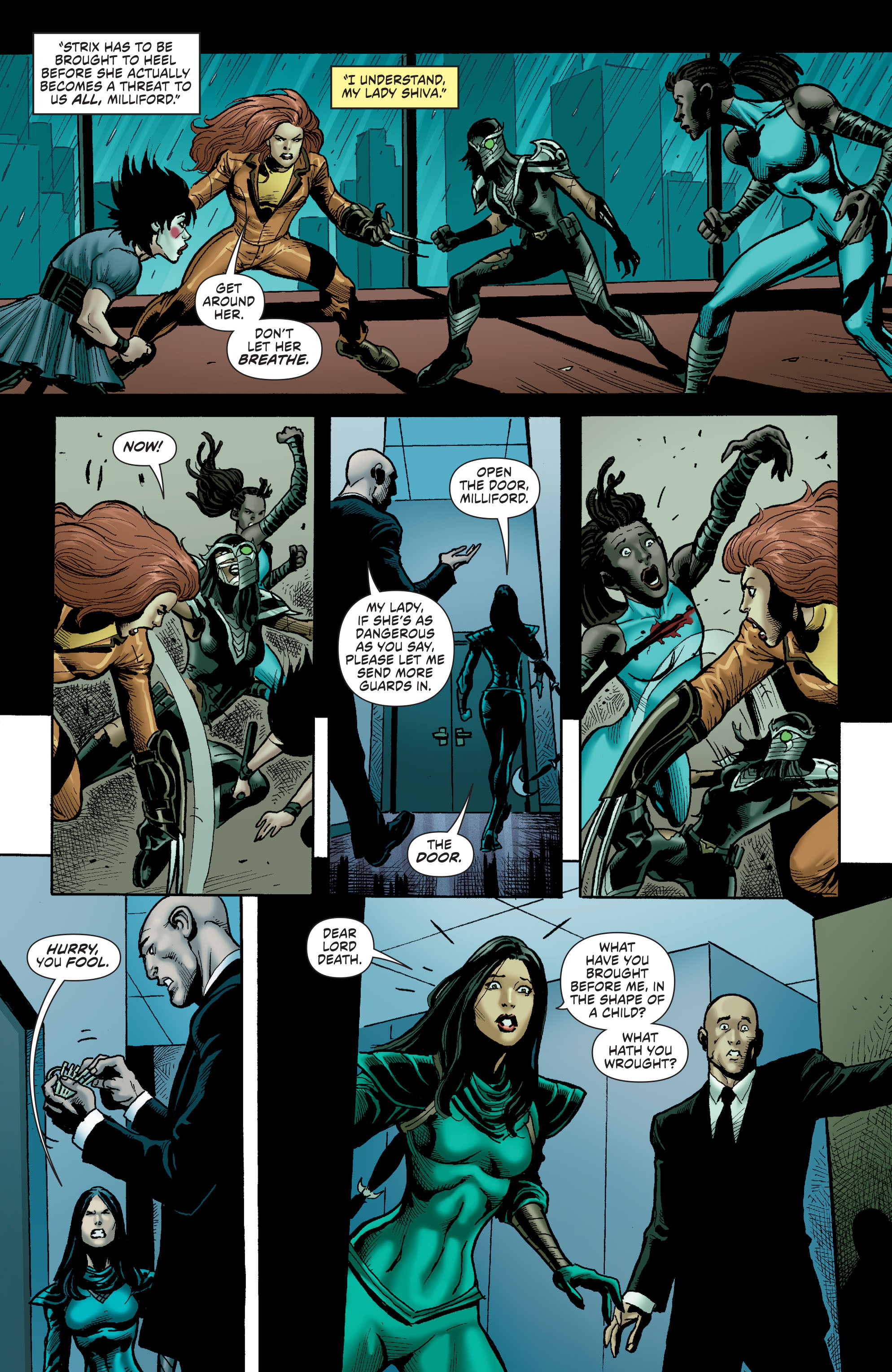 Read online Secret Six (2015) comic -  Issue #13 - 21