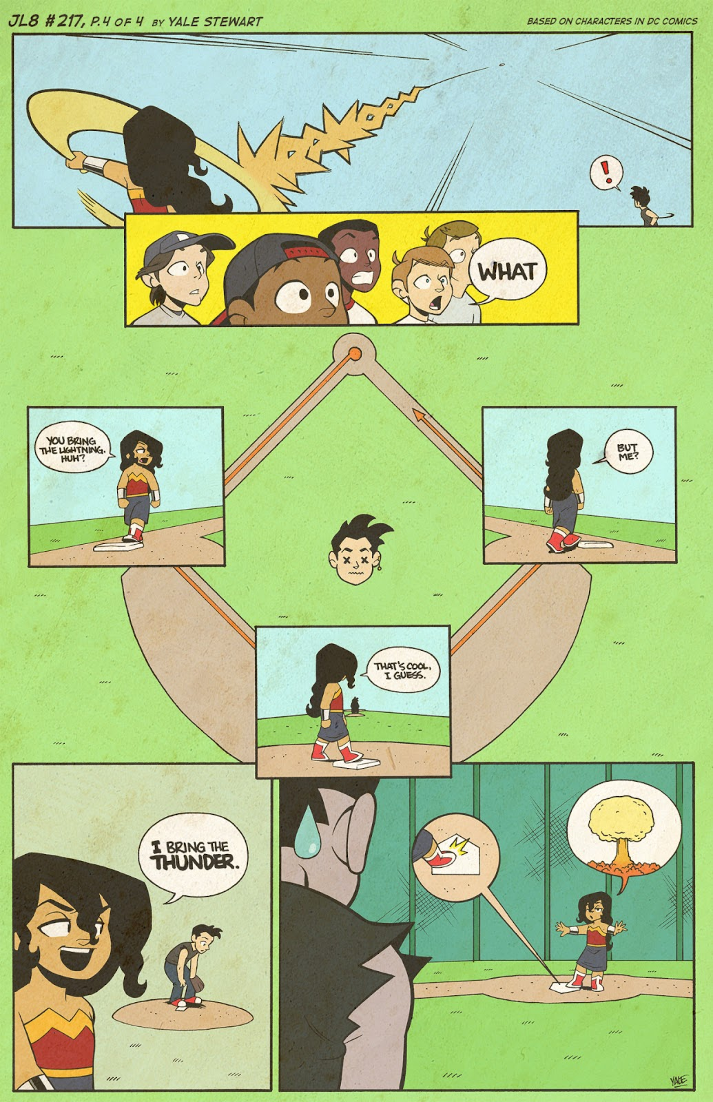 Read online JL8 – The Complete Collection comic -  Issue # TPB (Part 2) - 45