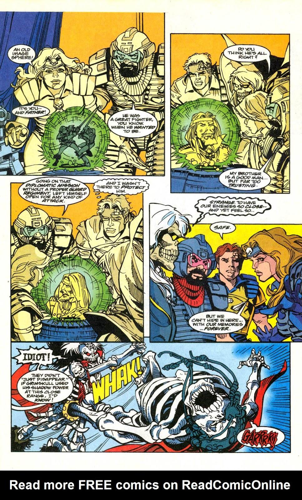 Skeleton Warriors Issue #2 #2 - English 15
