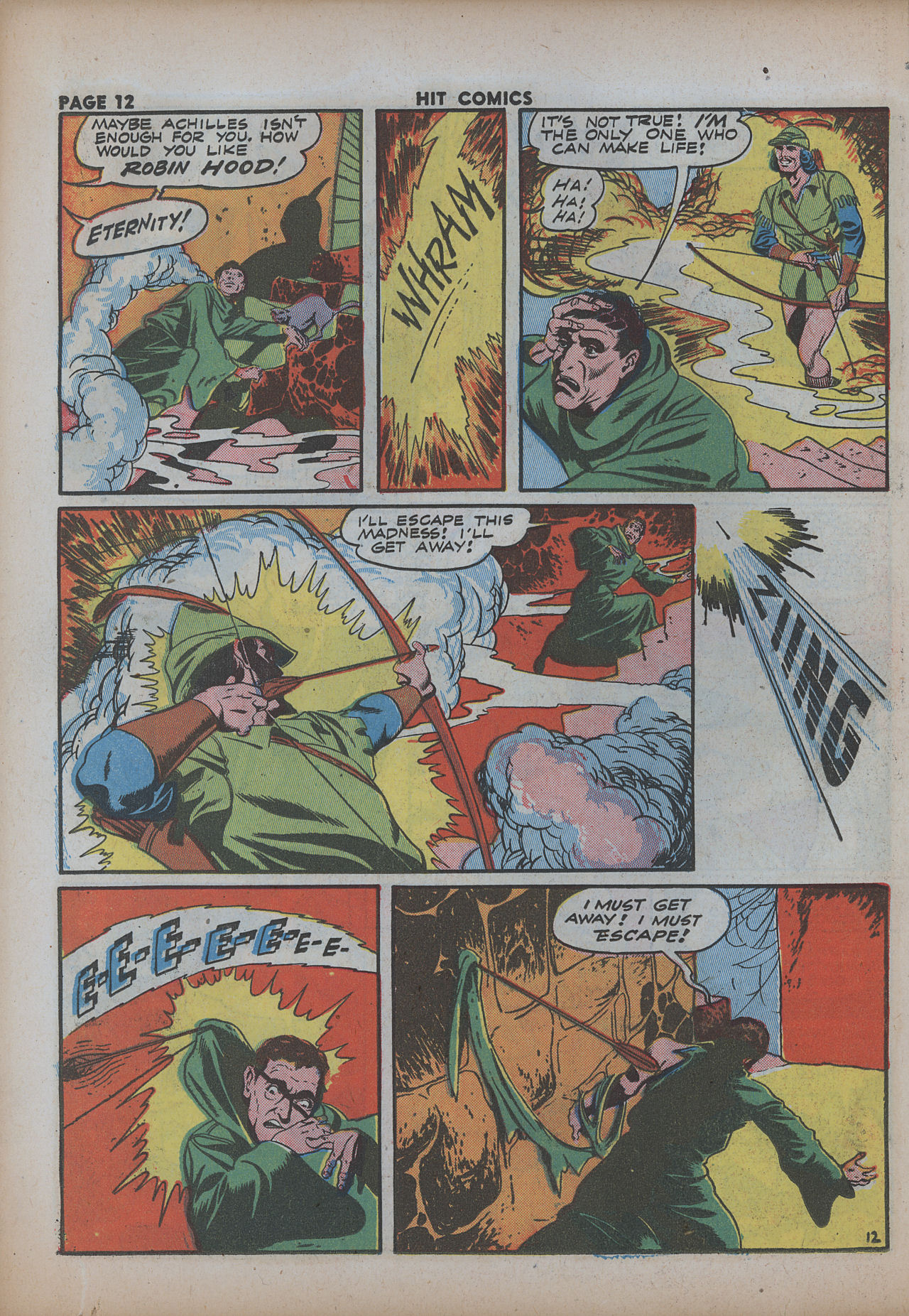 Read online Hit Comics comic -  Issue #26 - 14