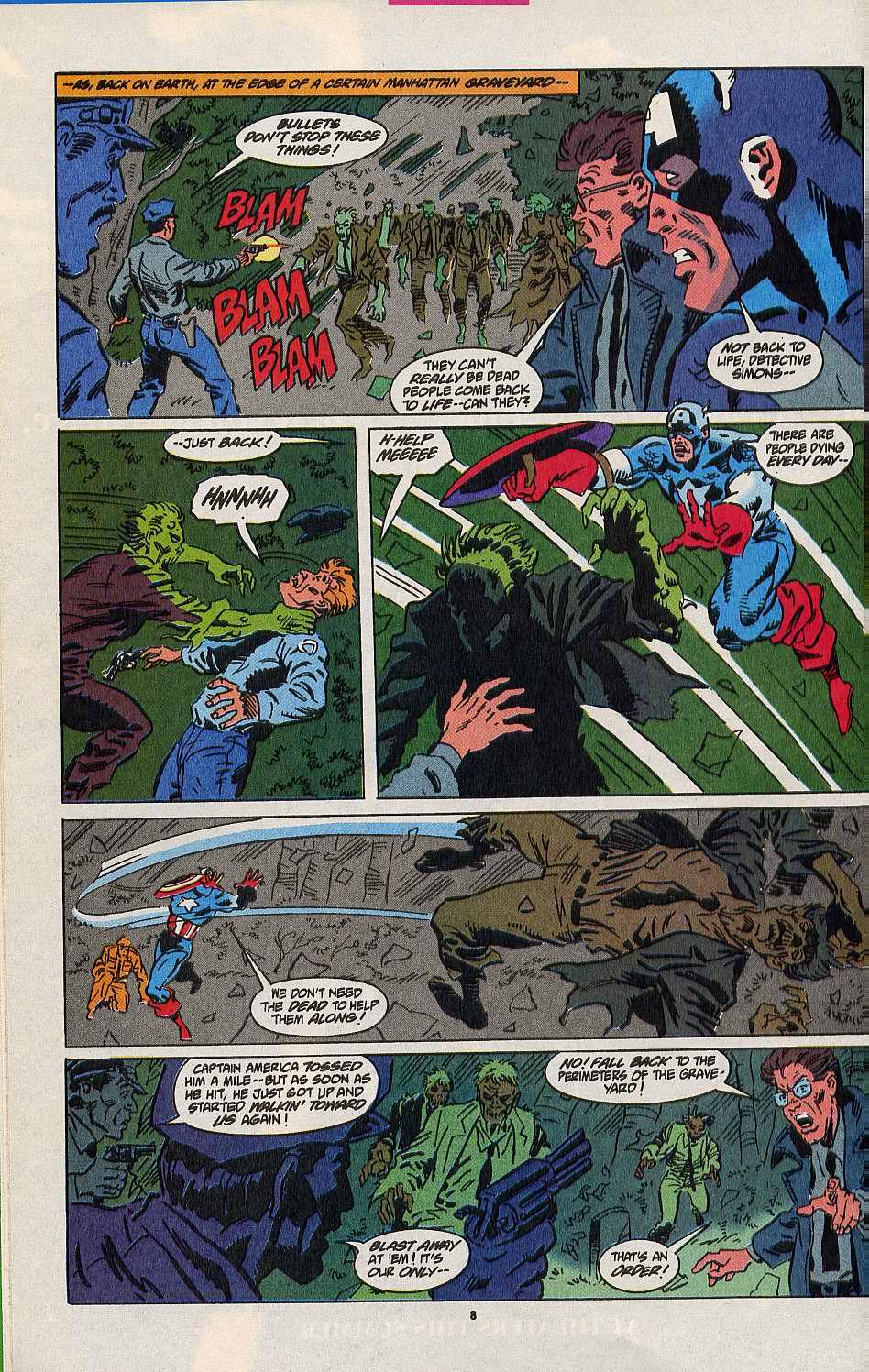 Read online Secret Defenders comic -  Issue #8 - 7