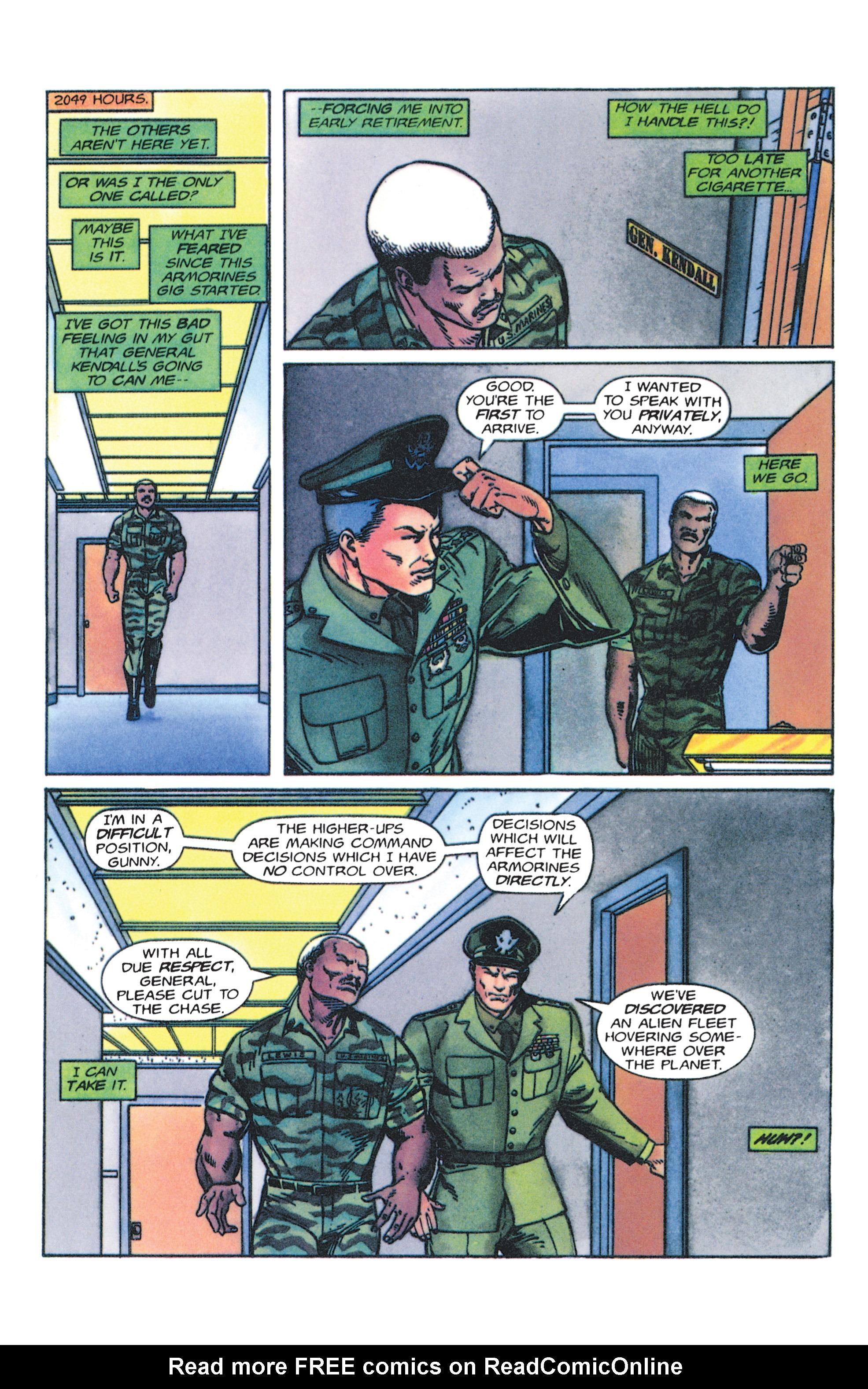 Read online Armorines comic -  Issue #4 - 20