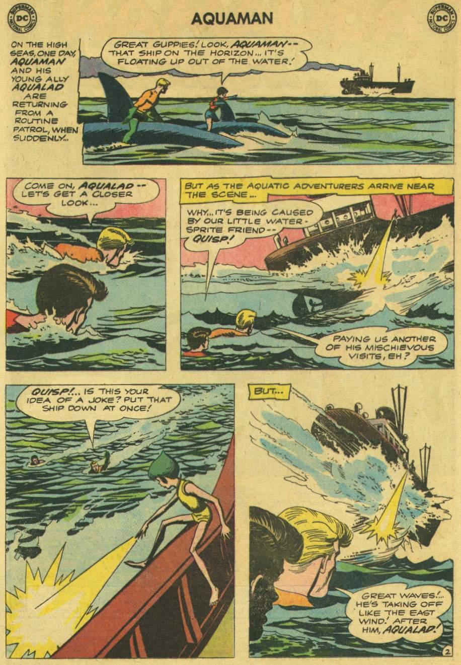 Read online Aquaman (1962) comic -  Issue #6 - 4