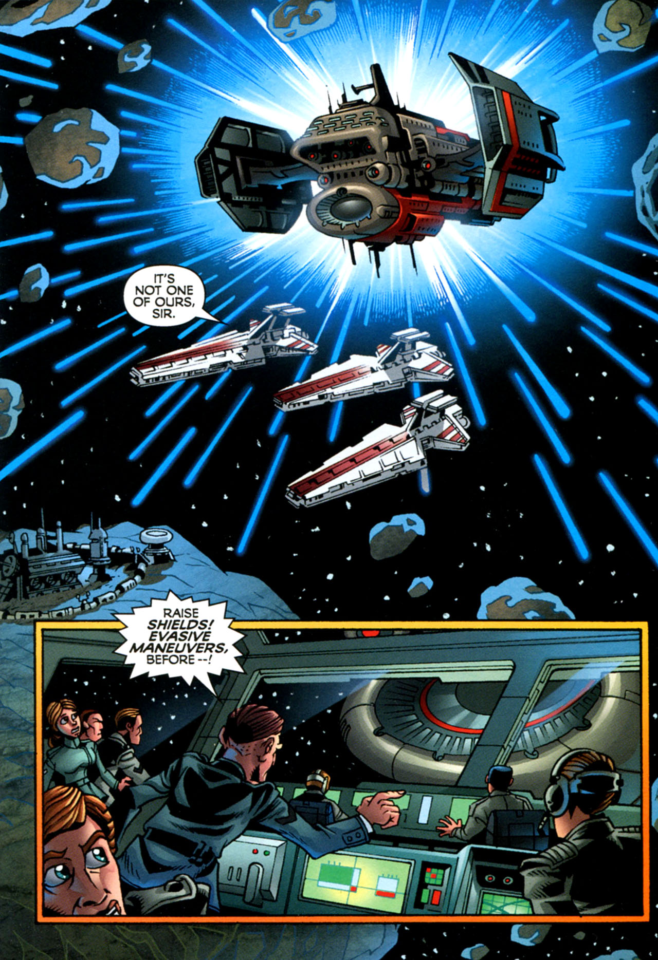 Read online Star Wars: The Clone Wars - The Starcrusher Trap comic -  Issue # Full - 14
