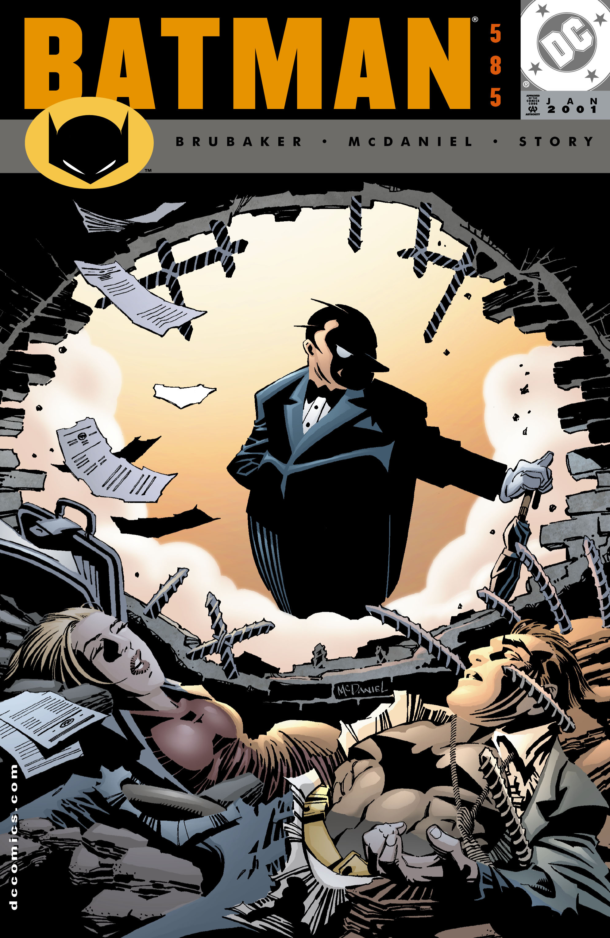 Batman (1940) 585 Page 1