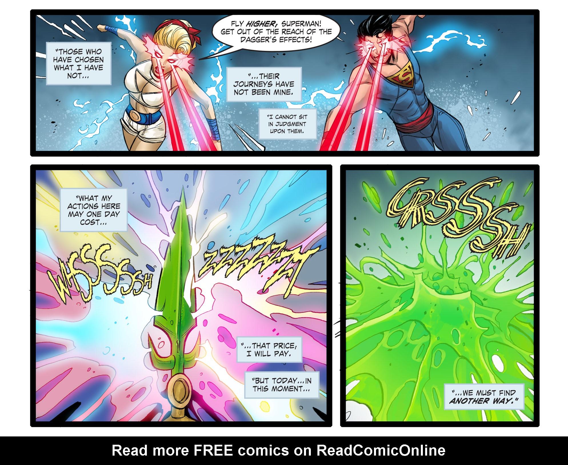 Read online DC Comics: Bombshells comic -  Issue #99 - 17