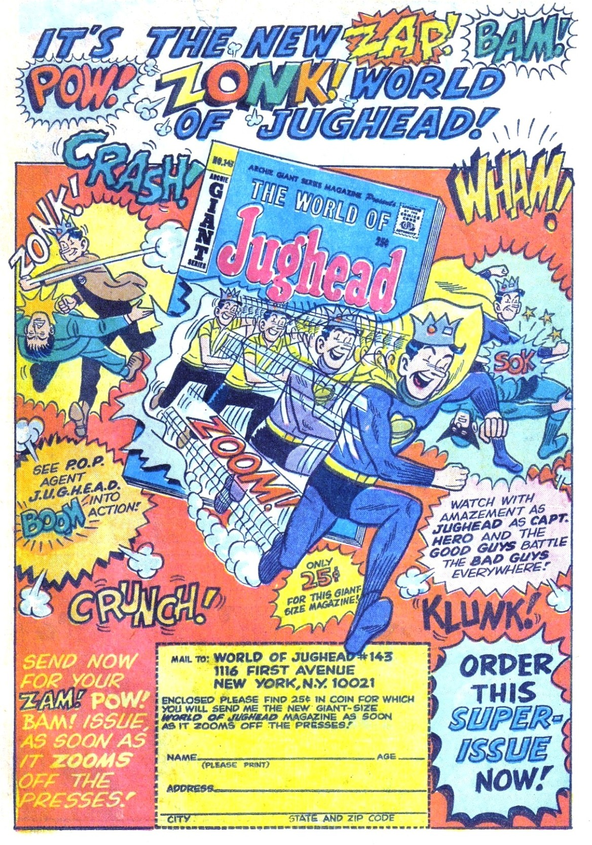 Read online Archie (1960) comic -  Issue #168 - 19