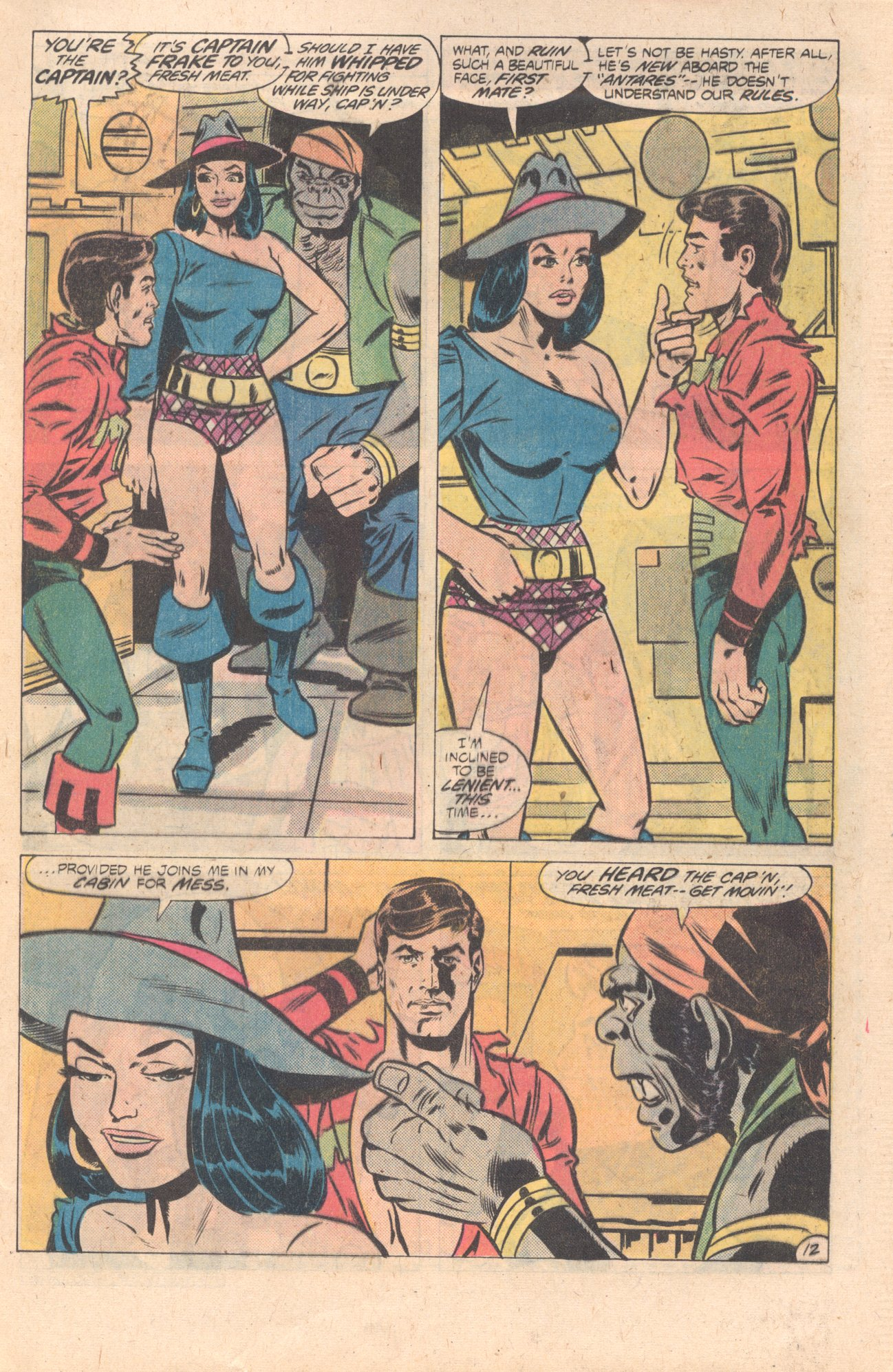 Legion of Super-Heroes (1980) 274 Page 12