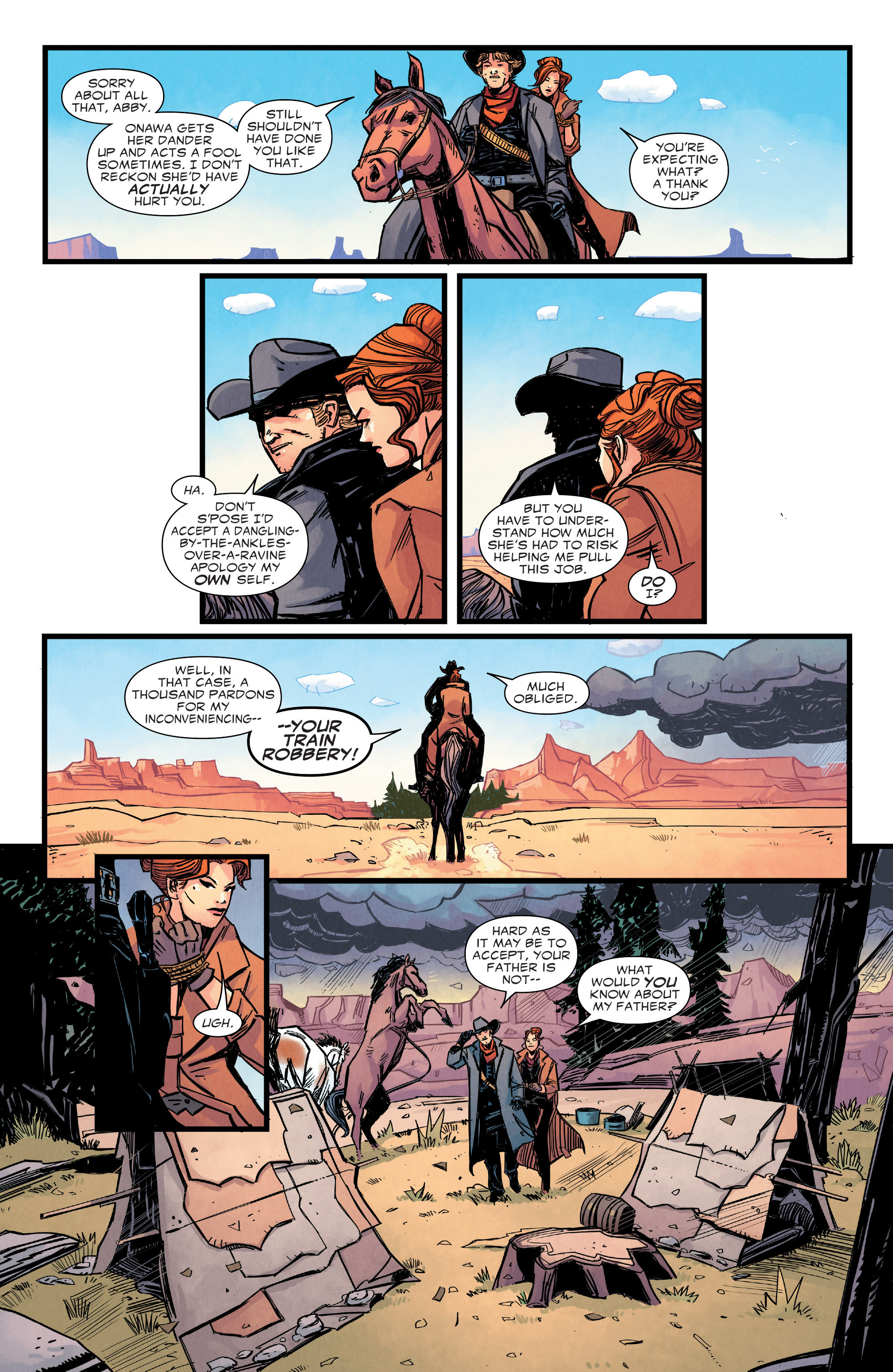 Read online Big Thunder Mountain Railroad comic -  Issue #3 - 6