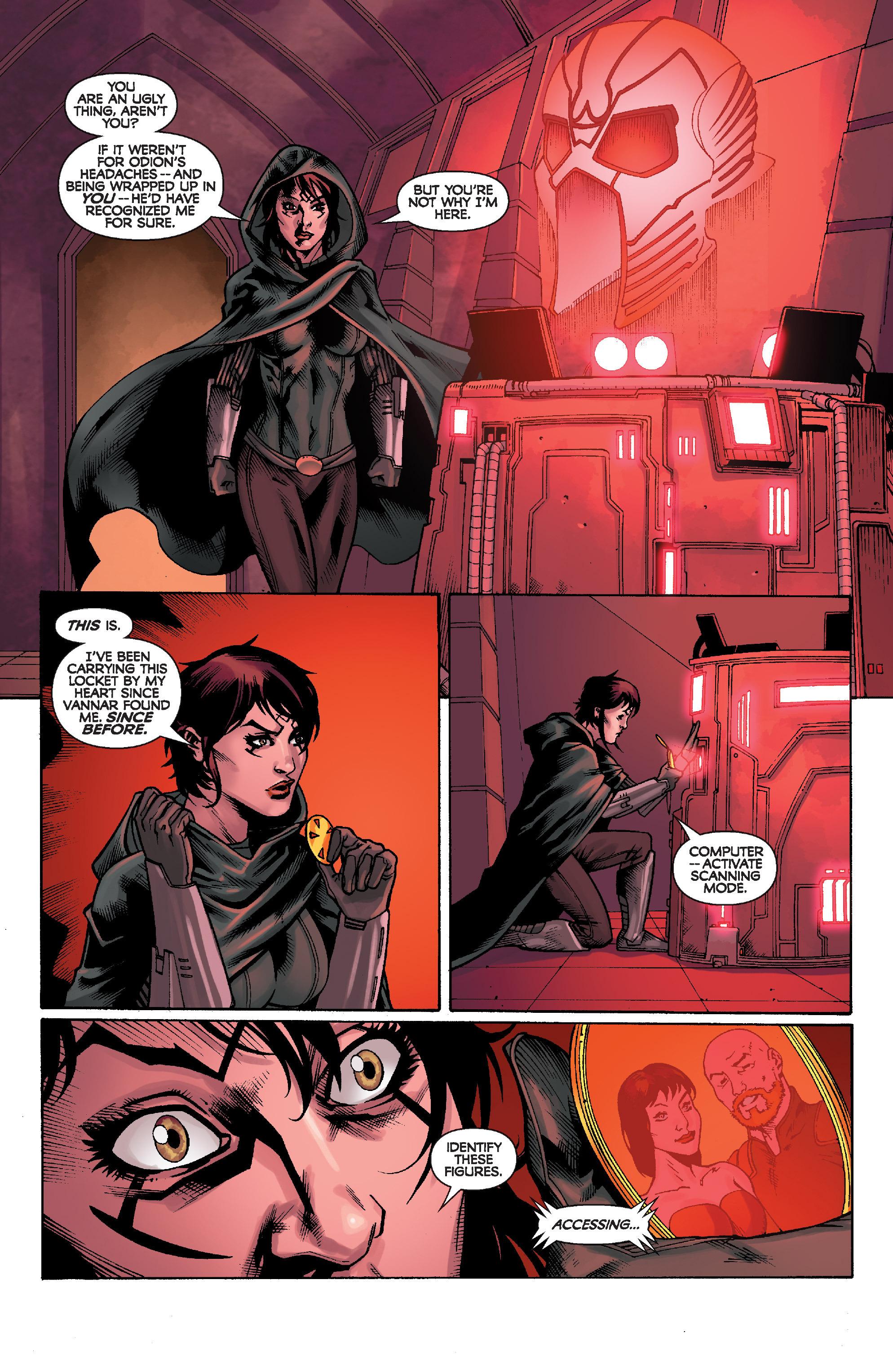 Read online Star Wars: Knight Errant - Escape comic -  Issue #1 - 23
