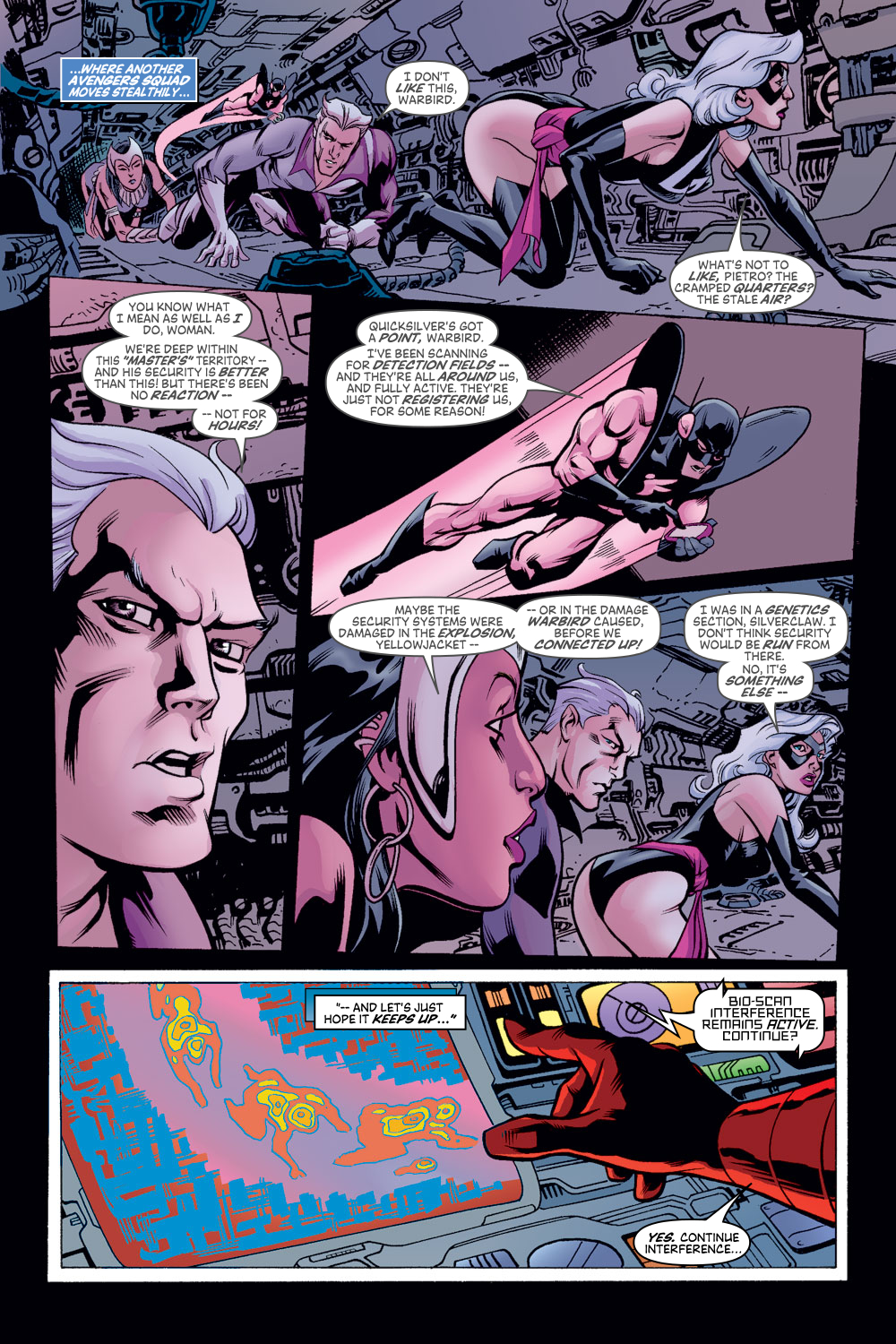 Read online Avengers (1998) comic -  Issue #48 - 6