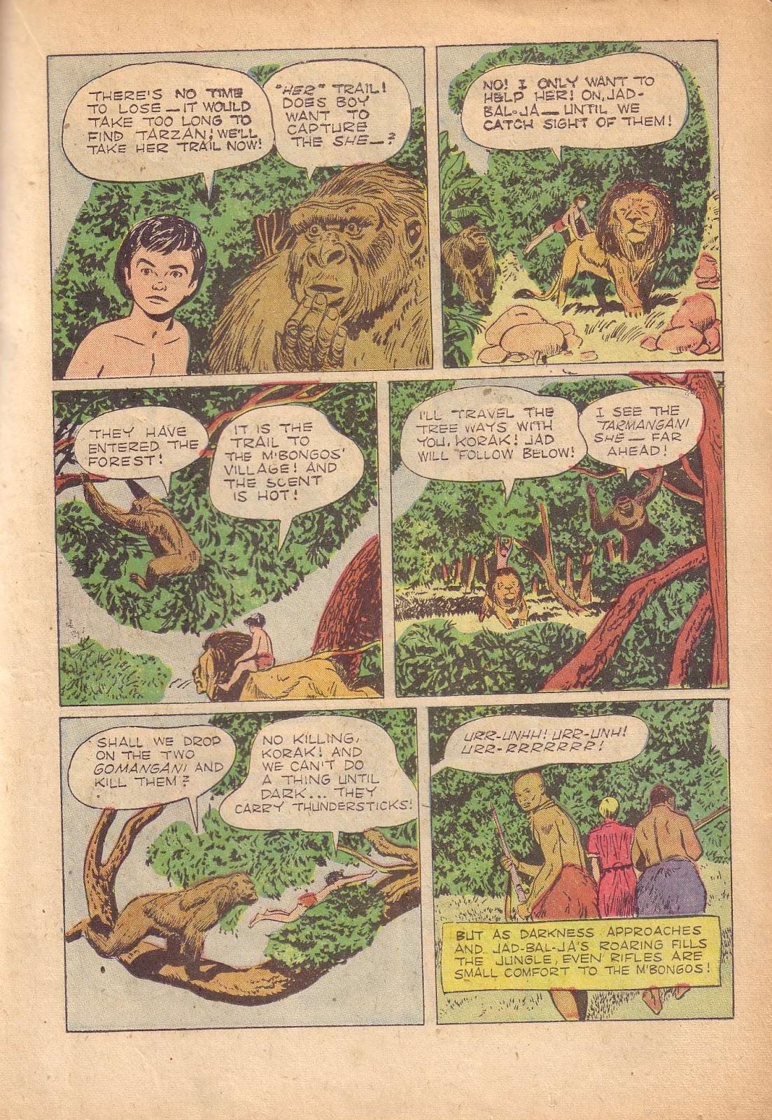 Tarzan (1948) issue 50 - Page 23