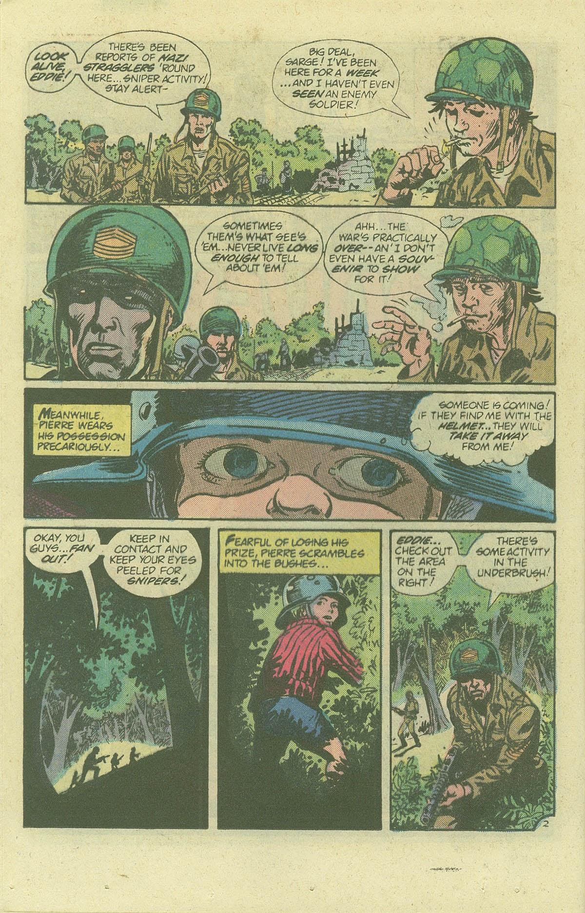 Read online Sgt. Rock comic -  Issue #378 - 19