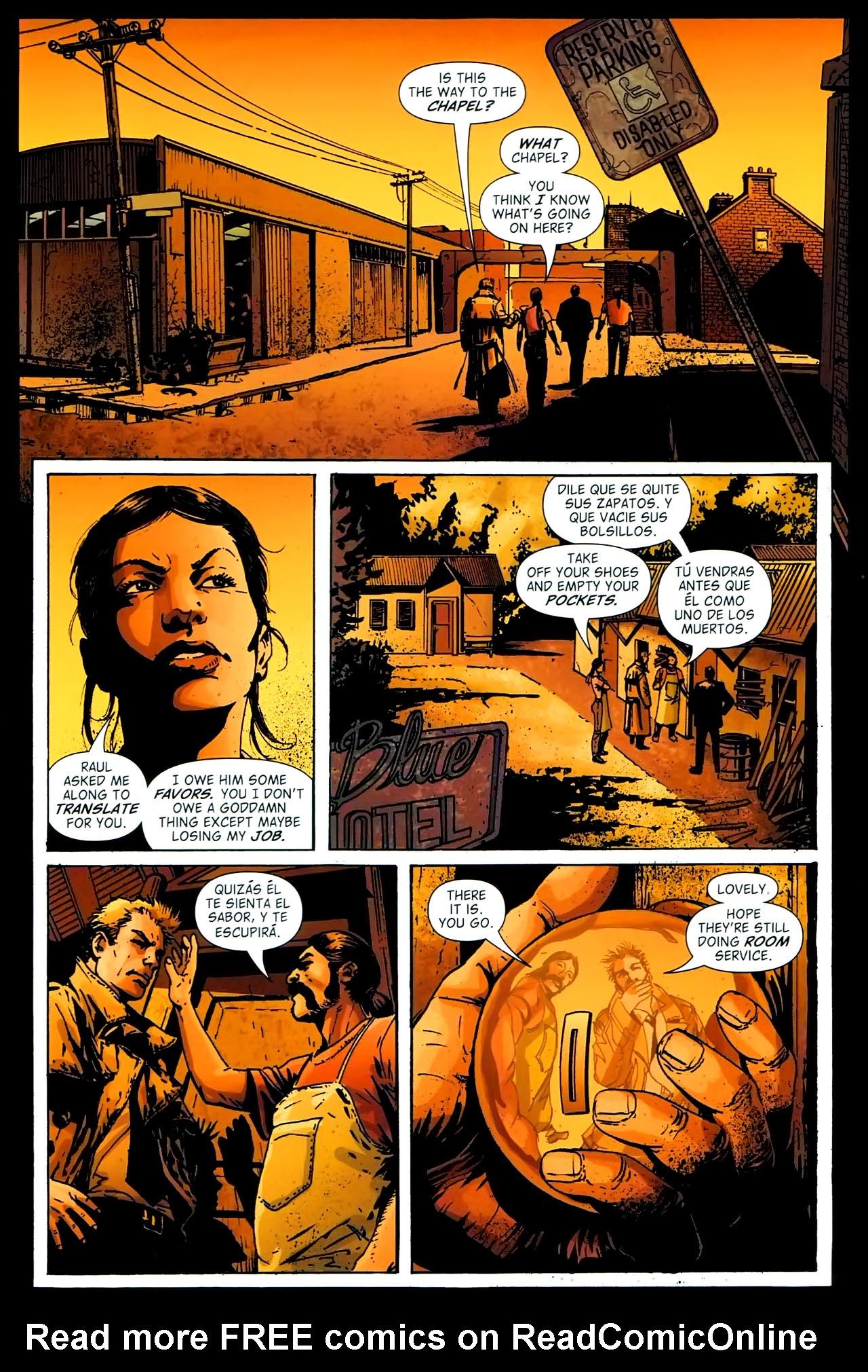 Read online John Constantine Hellblazer: All His Engines comic -  Issue # Full - 62