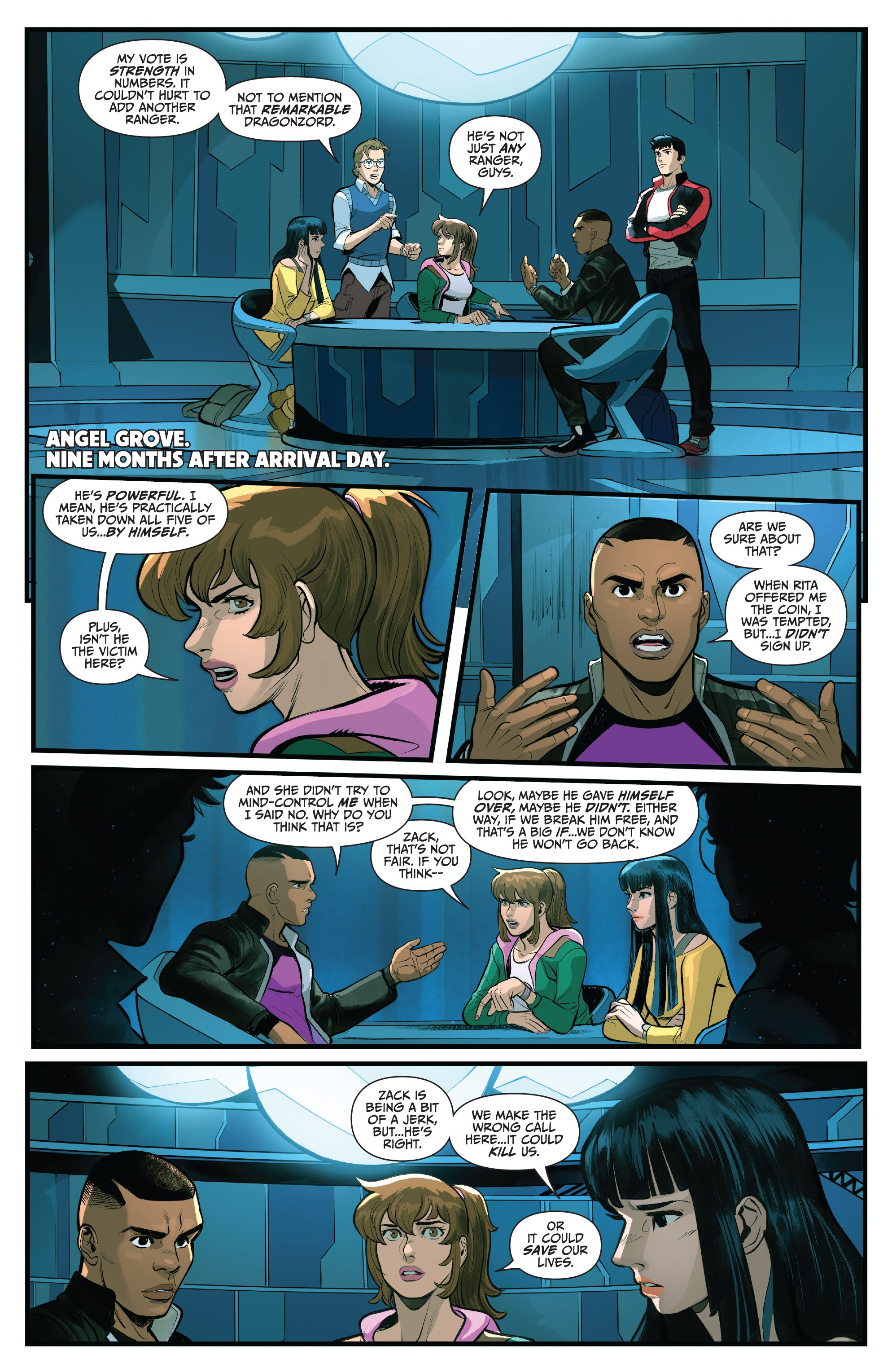 Read online Saban's Go Go Power Rangers comic -  Issue #22 - 4