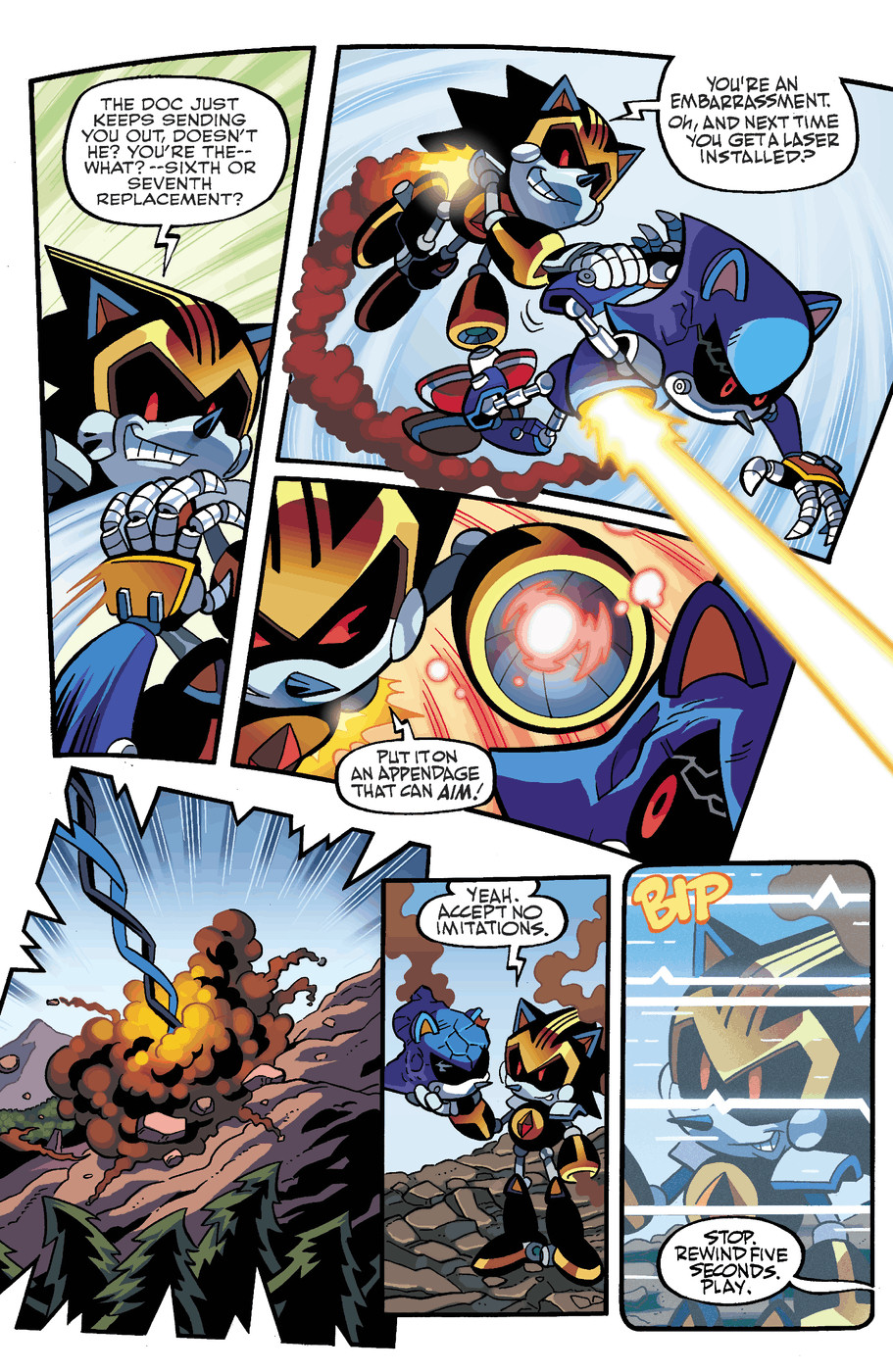 Read online Sonic Universe comic -  Issue #50 - 5