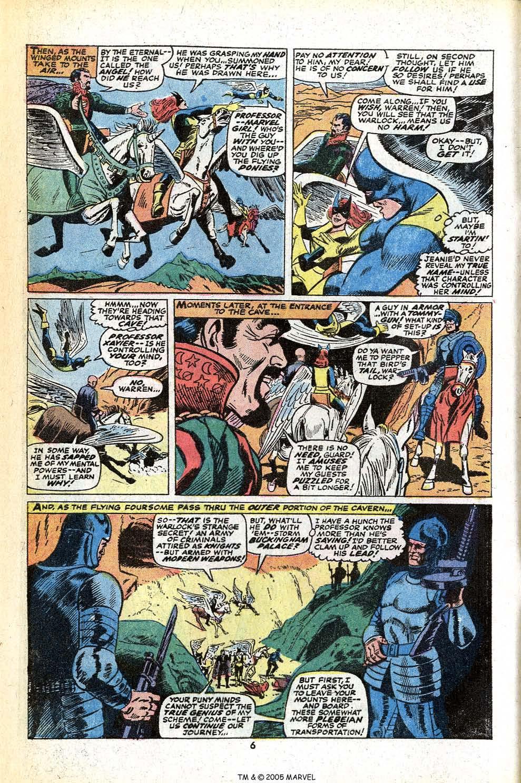 Read online Uncanny X-Men (1963) comic -  Issue #78 - 8