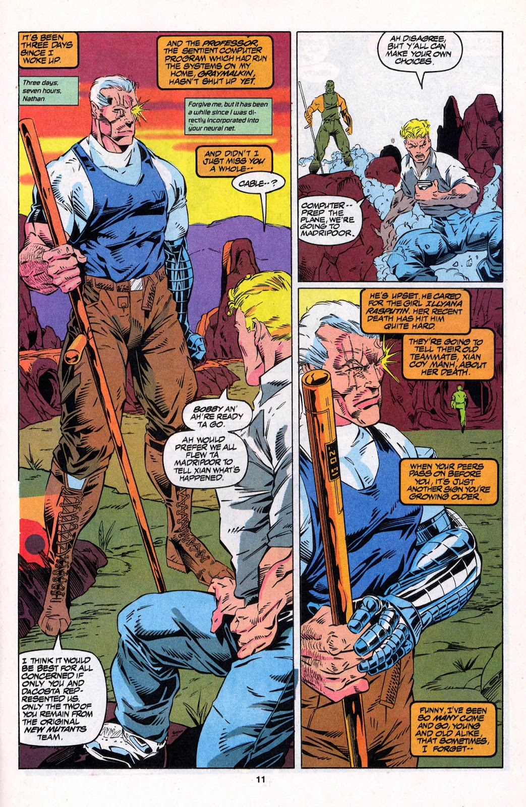 X-Force (1991) Issue #26 #31 - English 11
