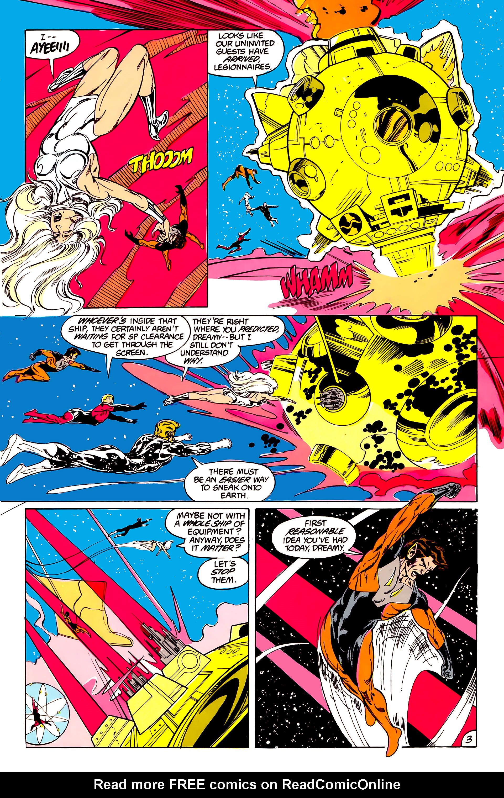 Legion of Super-Heroes (1984) 40 Page 3