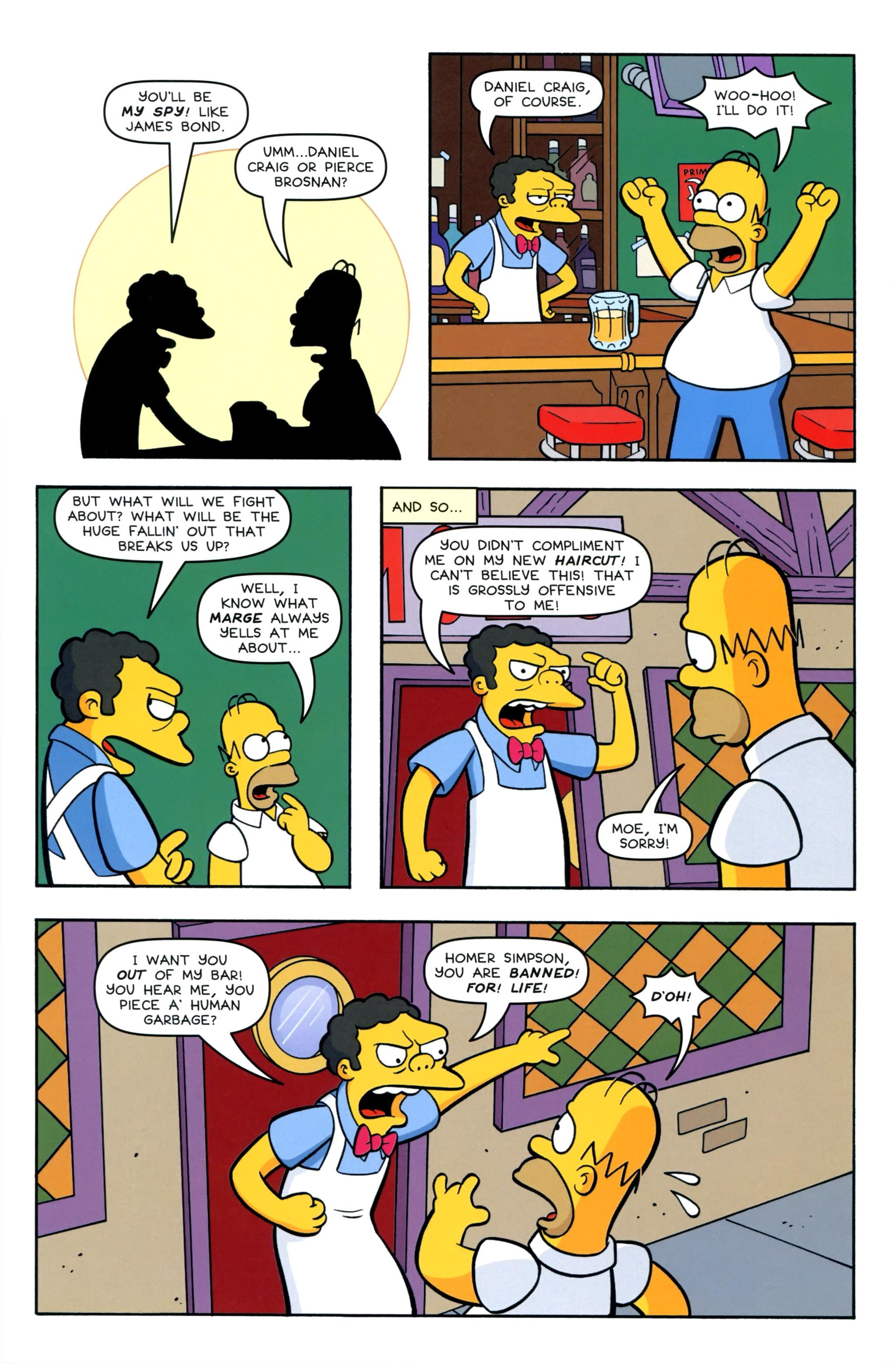 Read online Simpsons Comics comic -  Issue #220 - 12