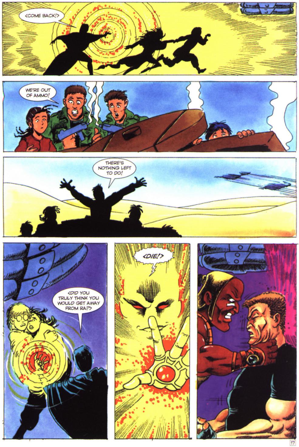 Read online Stargate comic -  Issue #4 - 19