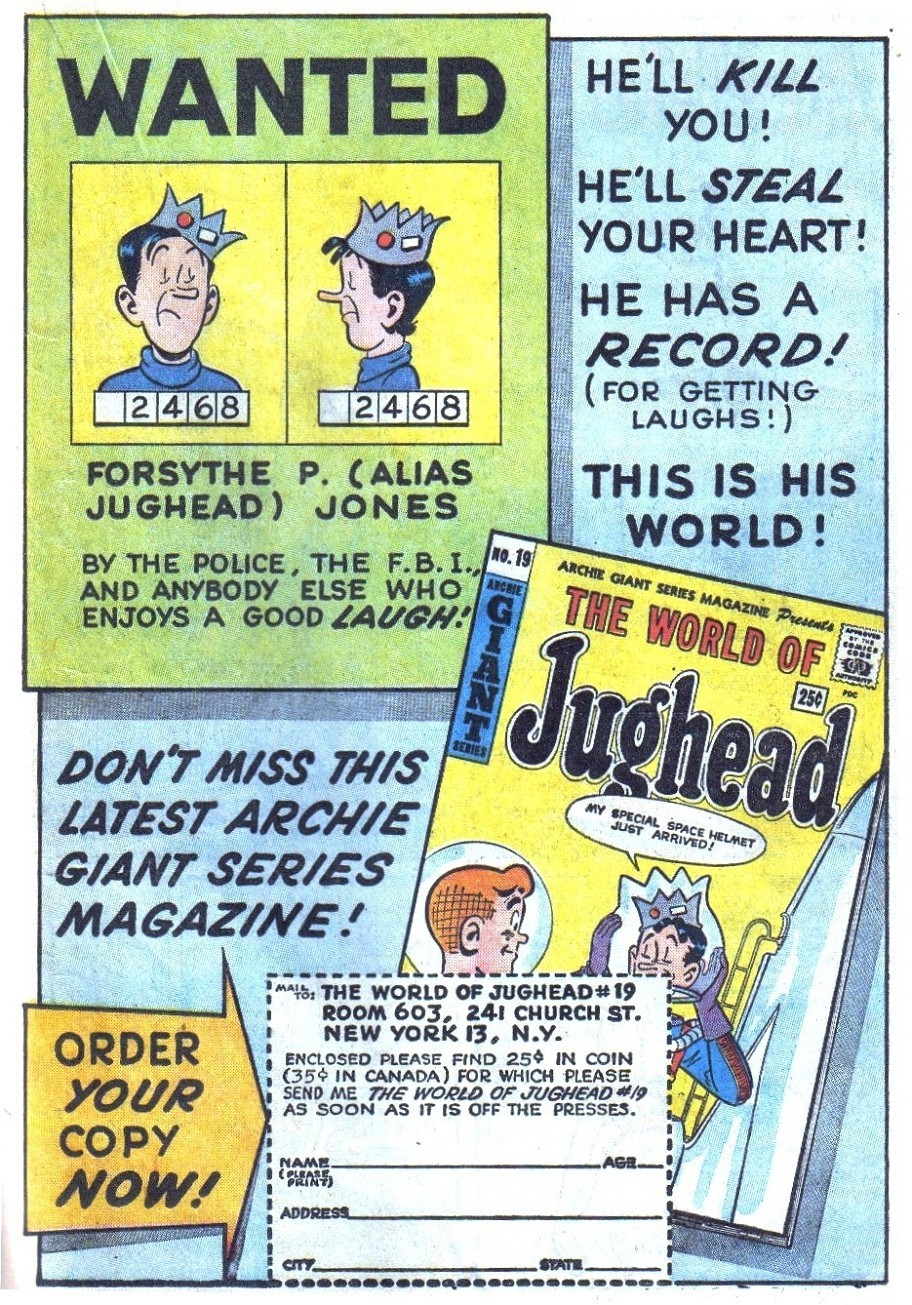 Read online Archie (1960) comic -  Issue #131 - 19