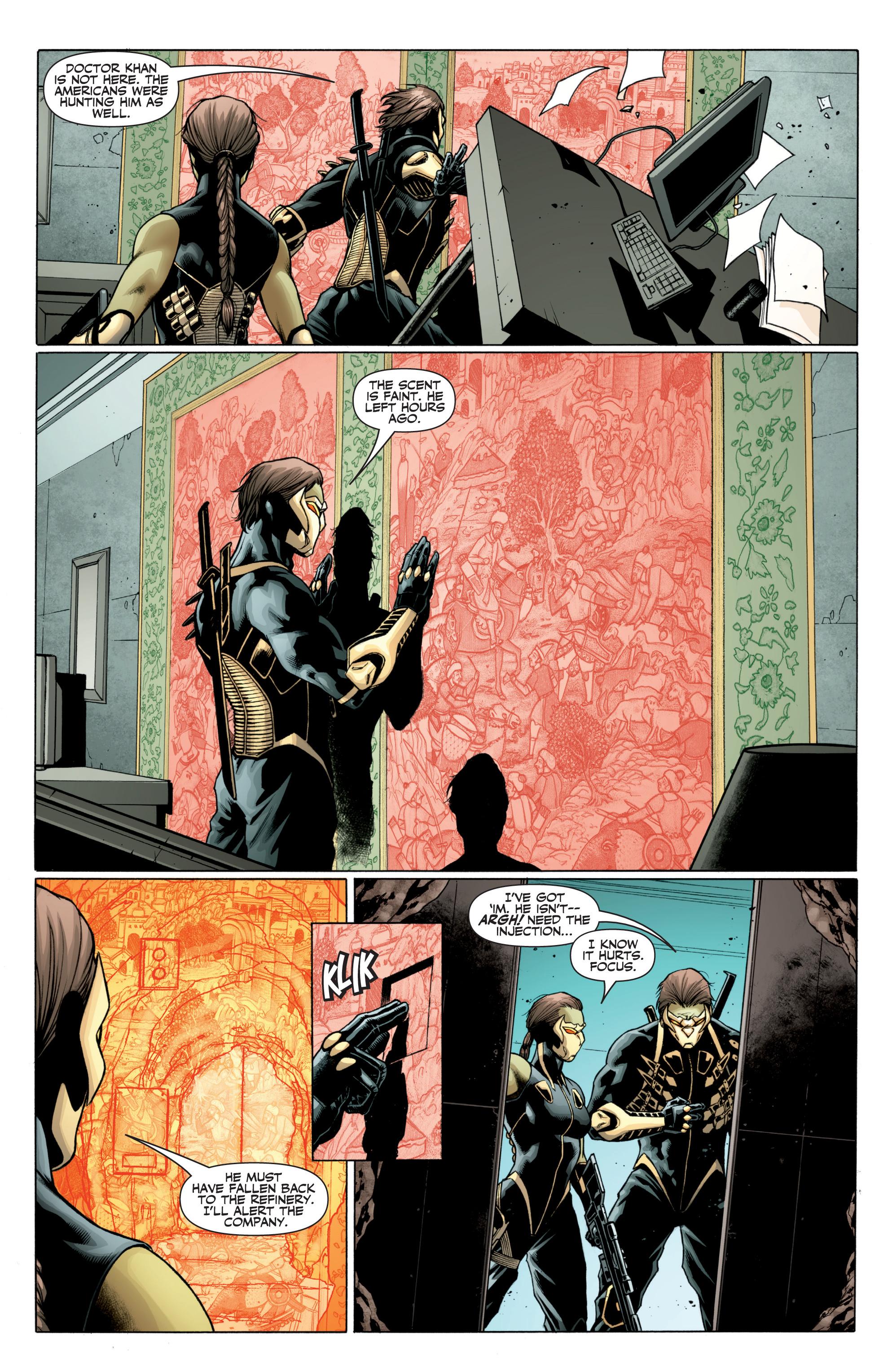 Read online Ninjak (2015) comic -  Issue #27 - 5