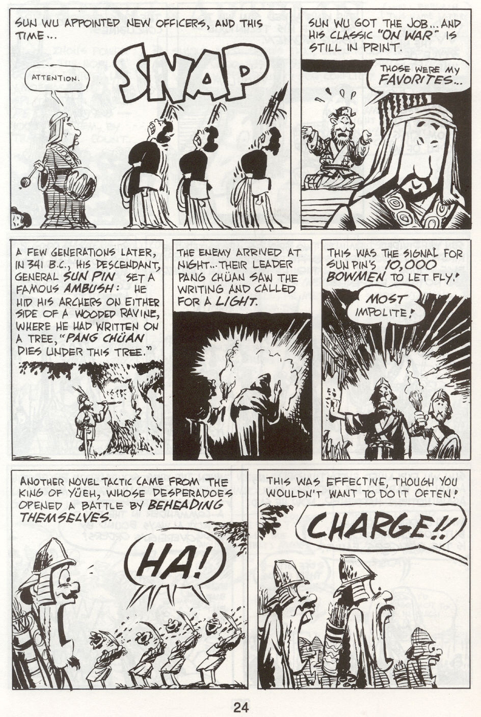 Read online The Cartoon History of the Universe comic -  Issue #9 - 27