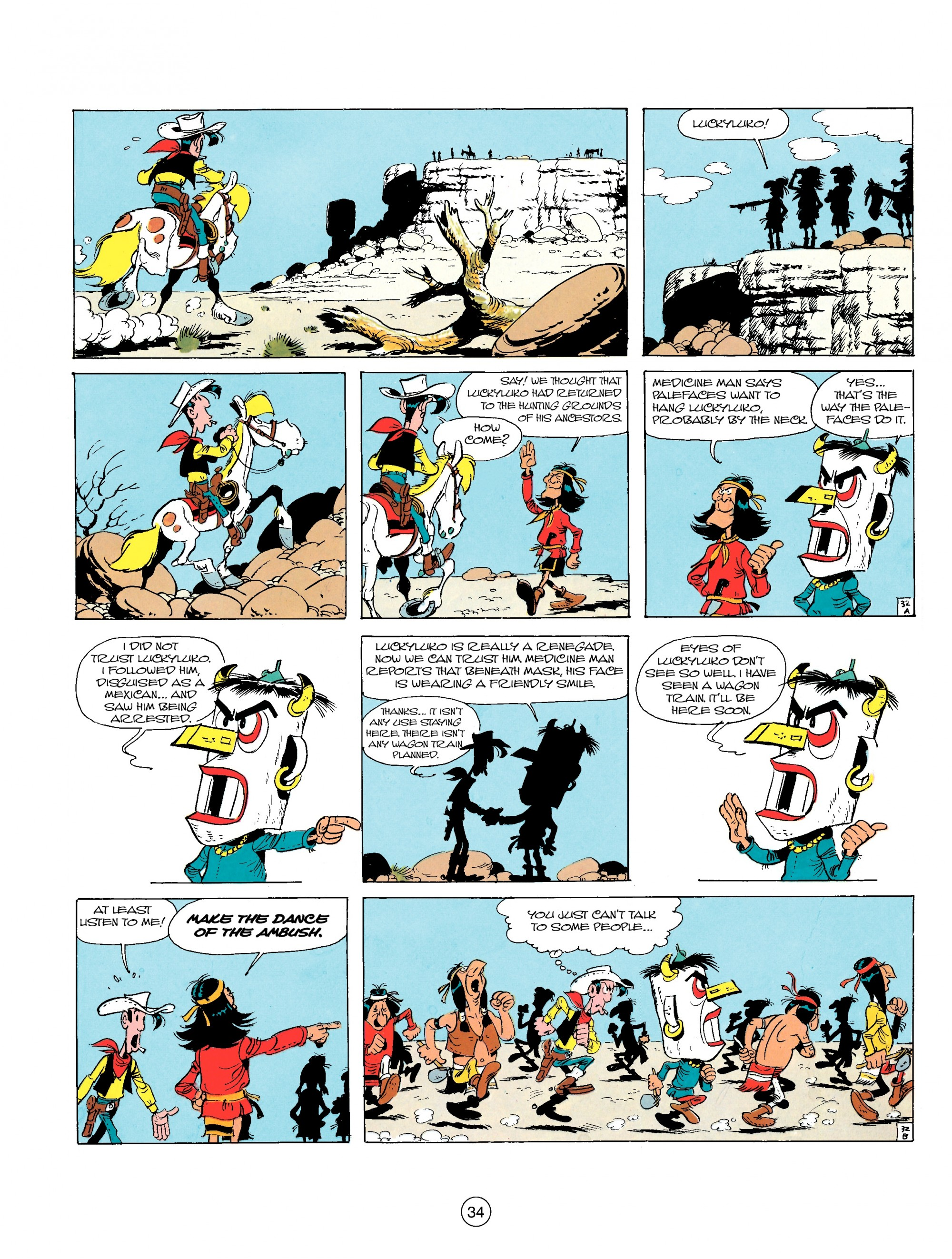 Read online A Lucky Luke Adventure comic -  Issue #17 - 34