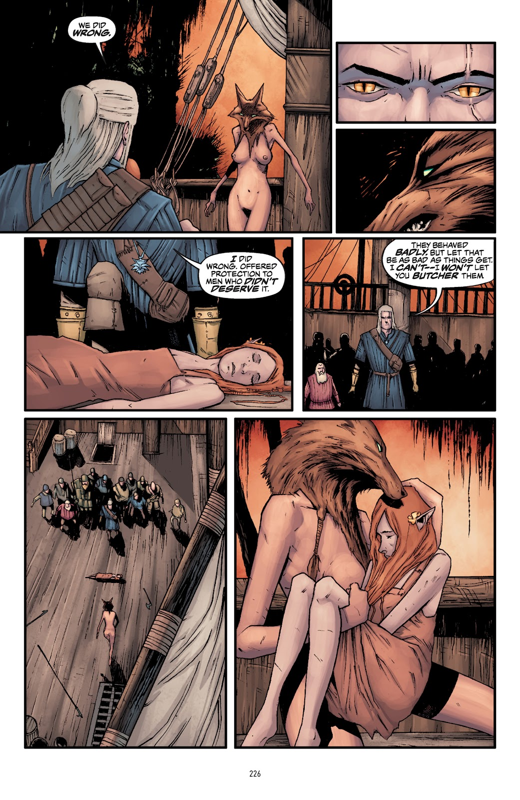 Read online The Witcher Omnibus comic -  Issue # TPB (Part 3) - 28