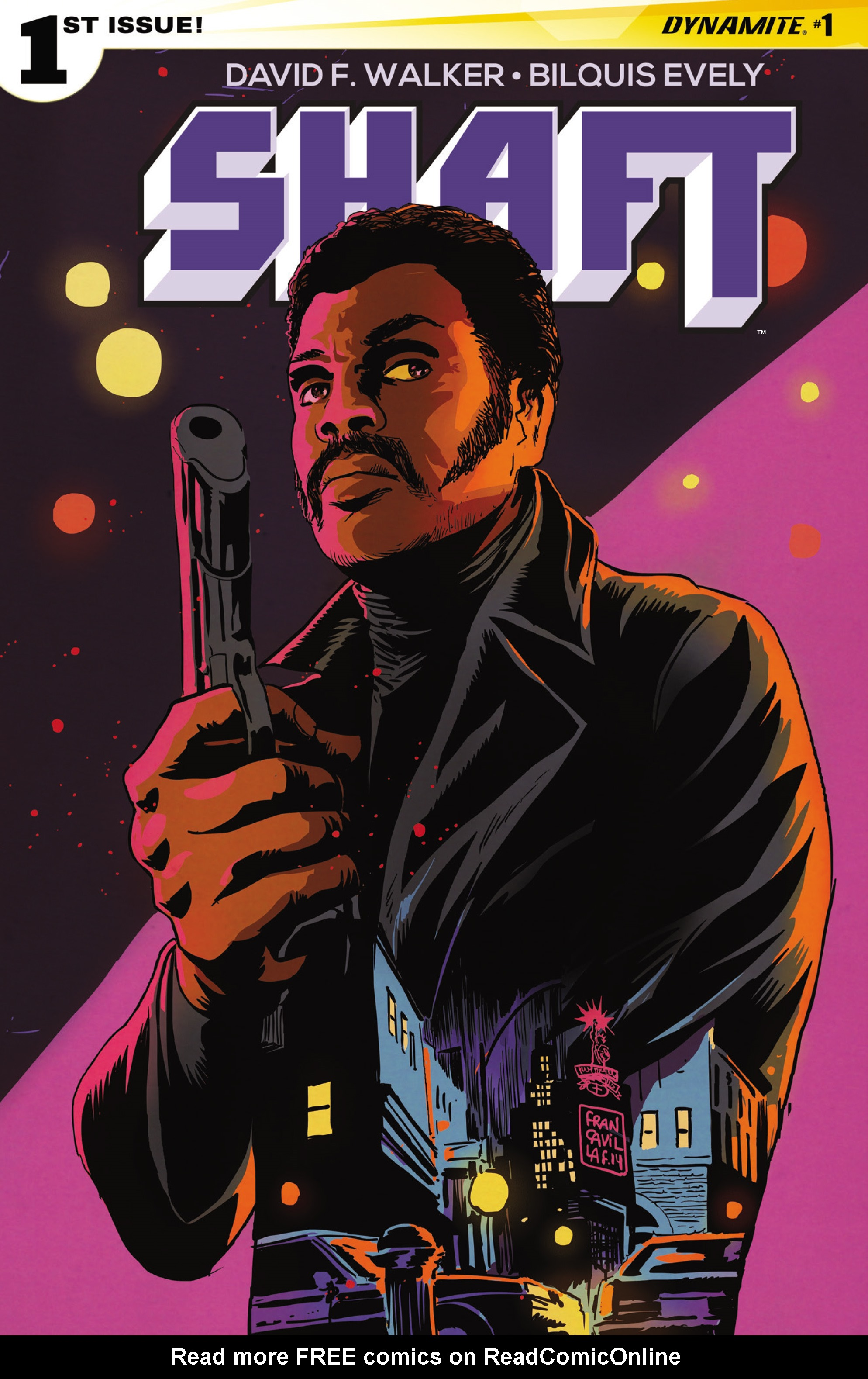 Read online Shaft comic -  Issue #1 - 2