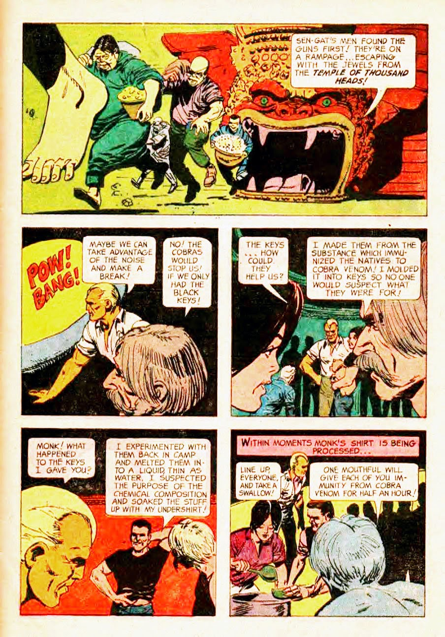 Read online Doc Savage (1966) comic -  Issue # Full - 33